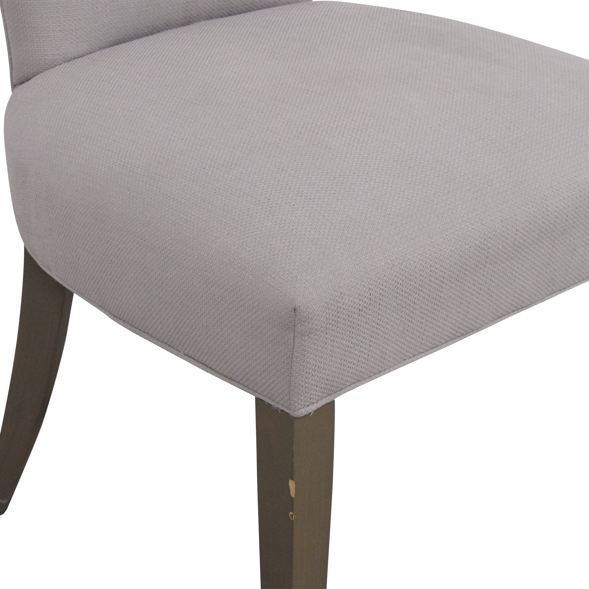 Crate & Barrel Crate & Barrel Sasha Upholstered Dining Side Chair Dining Chairs