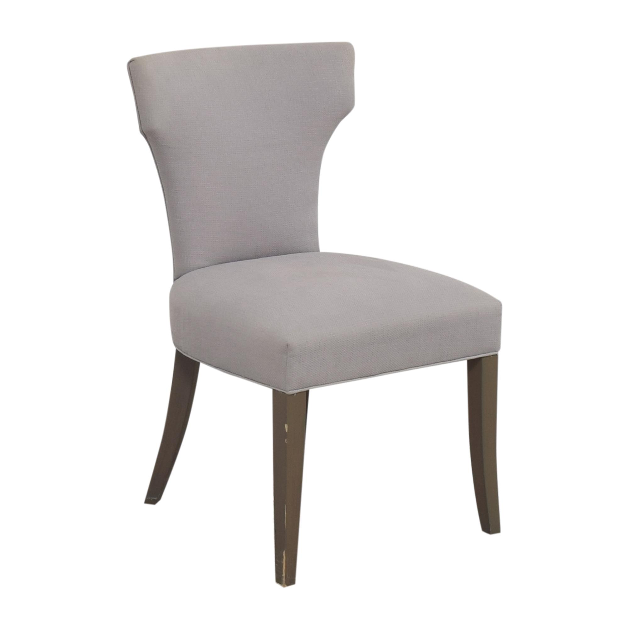 buy Crate & Barrel Sasha Upholstered Dining Side Chair Crate & Barrel