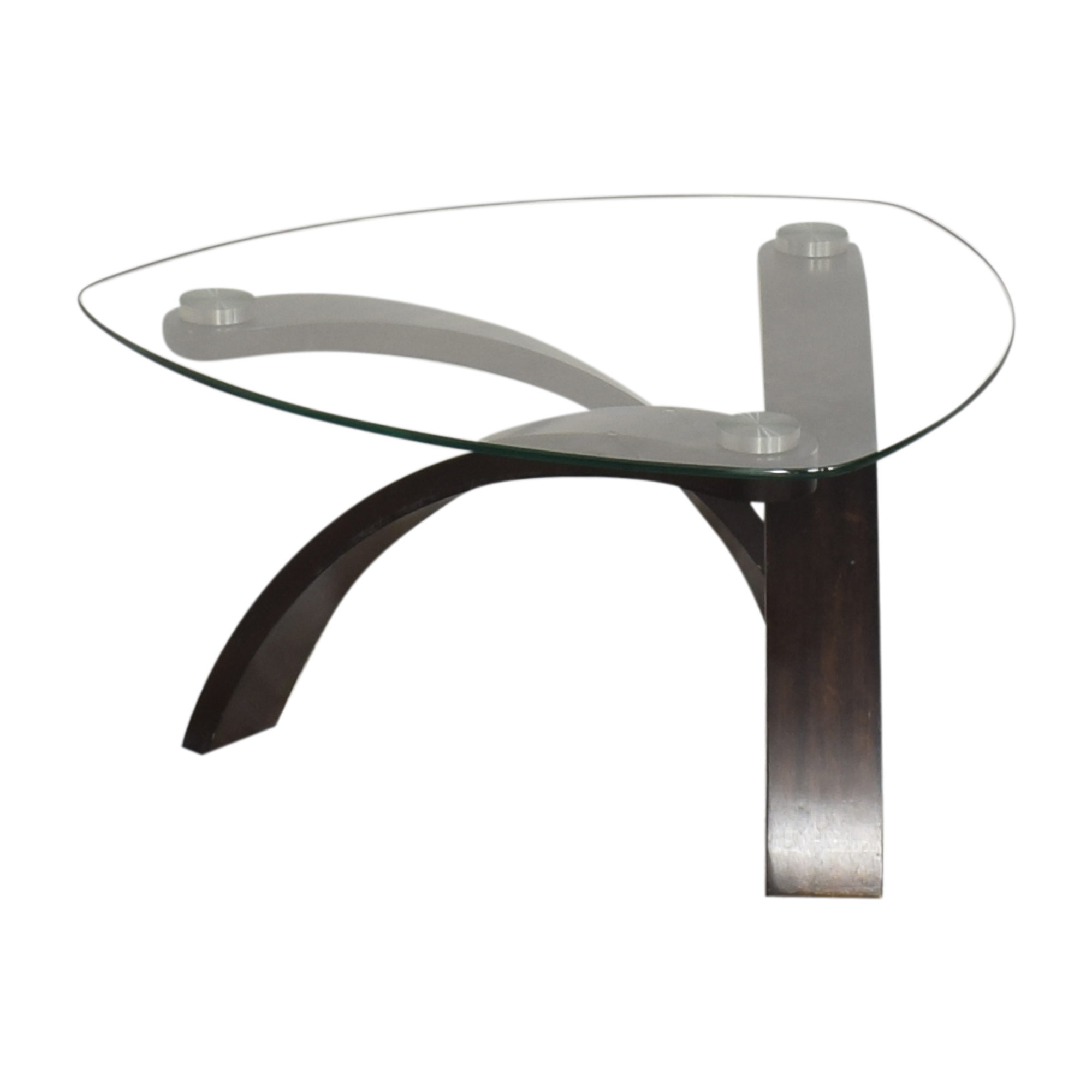buy Raymour & Flanigan Allure Round Coffee Table Raymour & Flanigan Tables