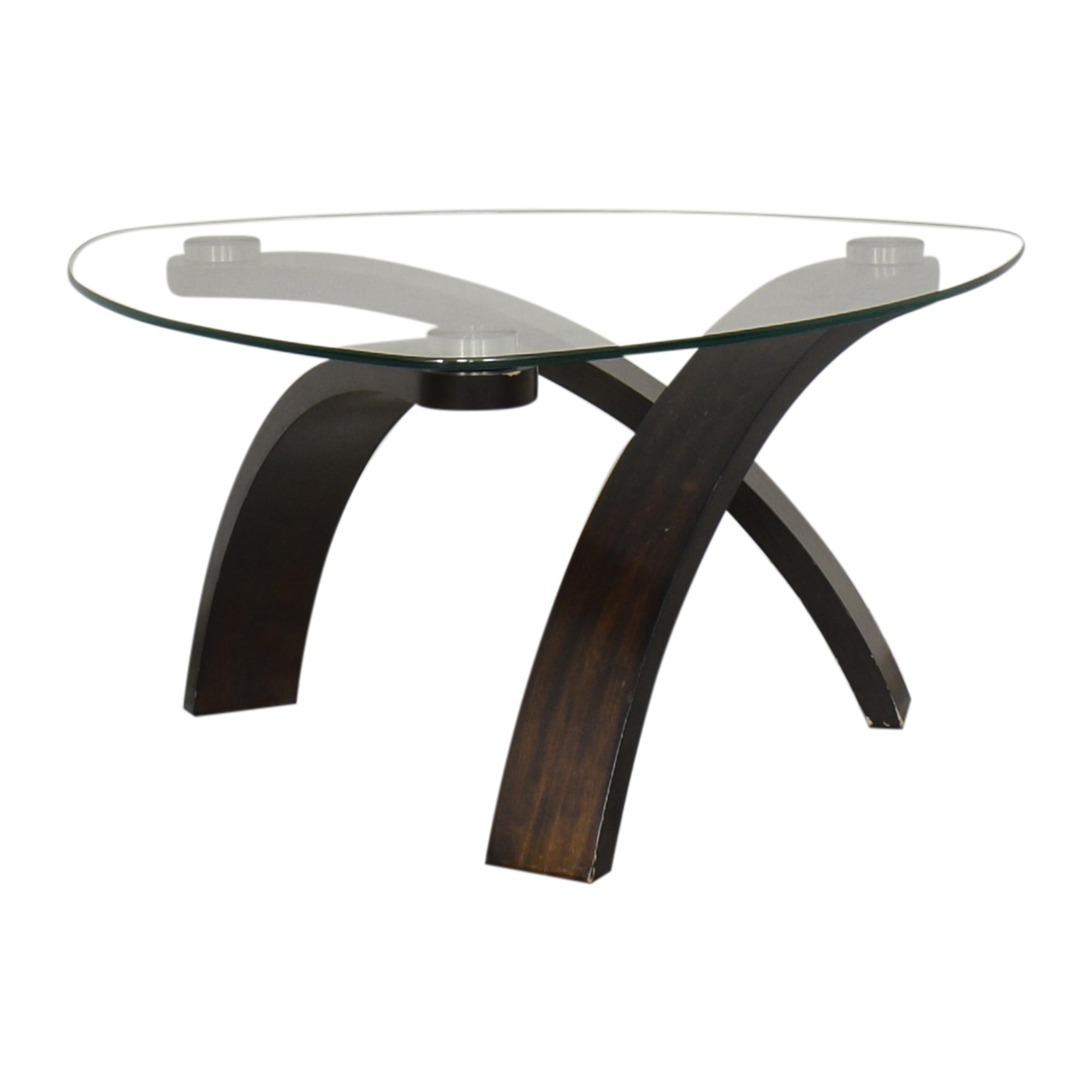 Raymour & Flanigan Raymour & Flanigan Allure Round Coffee Table price