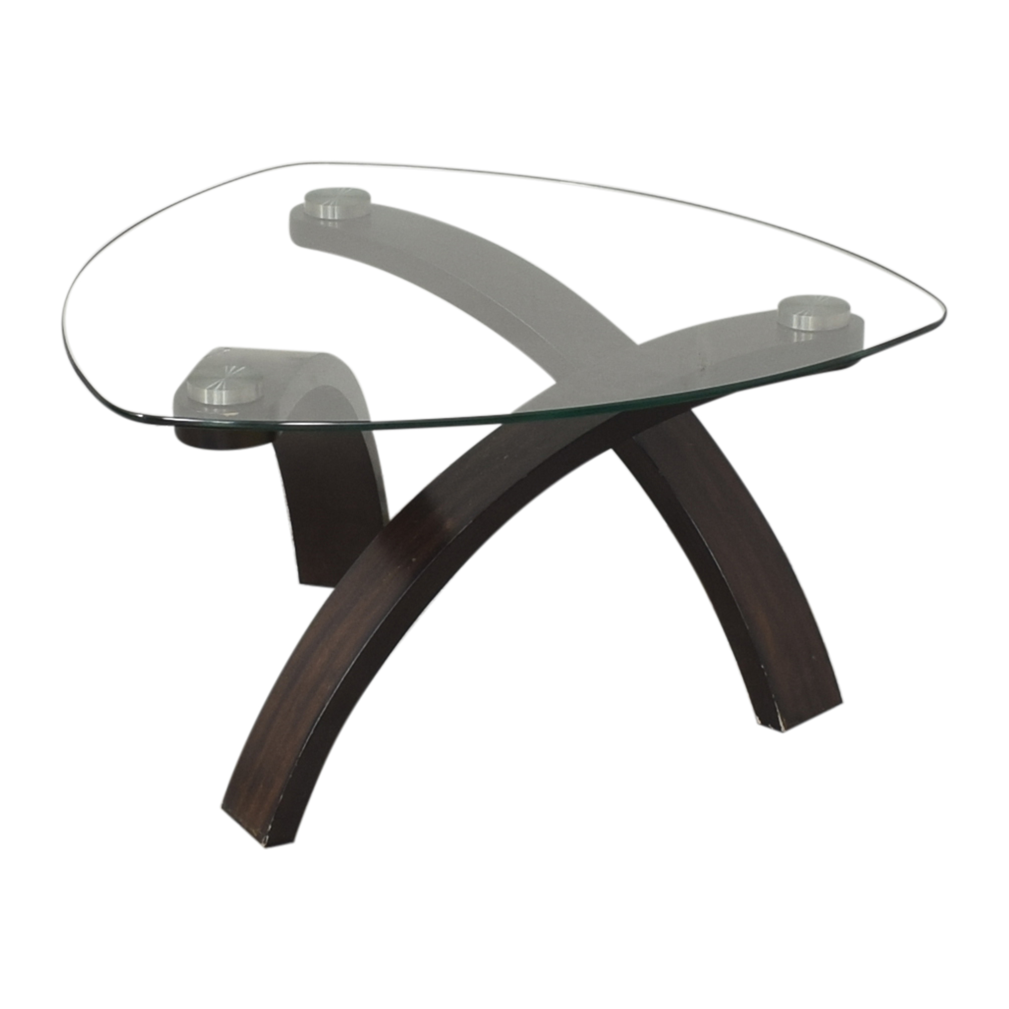 Raymour & Flanigan Raymour & Flanigan Allure Round Coffee Table nyc