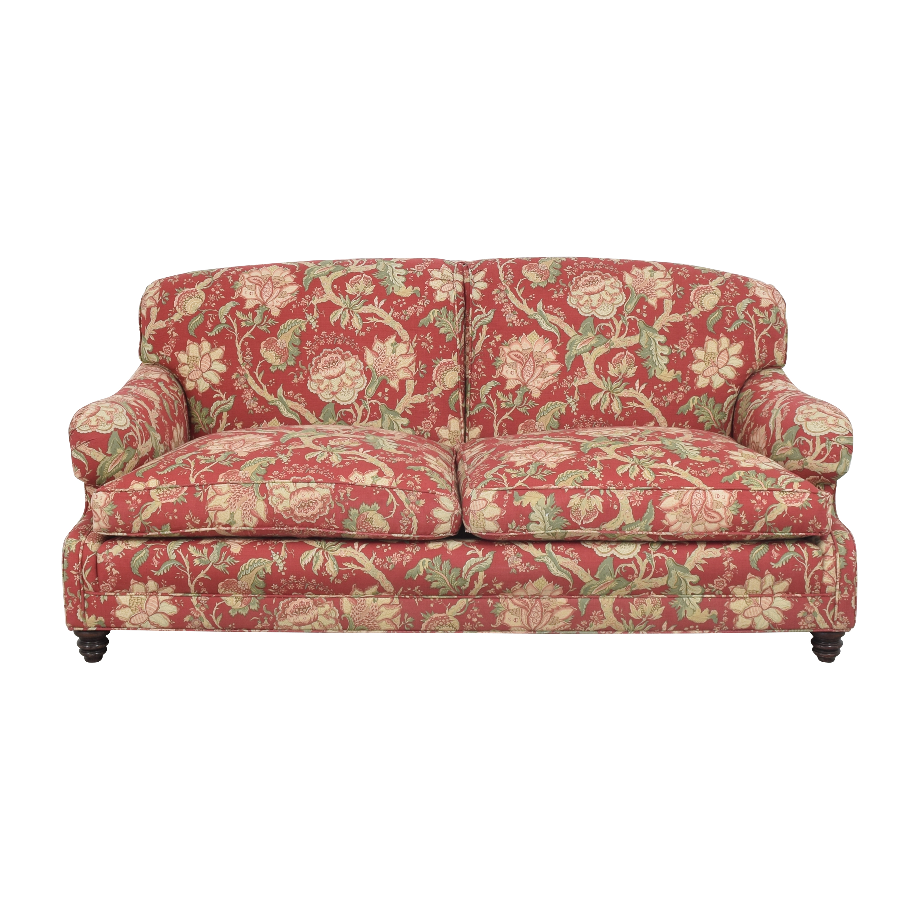 Barclay Butera Home Floral Upholstered Sofa / Classic Sofas