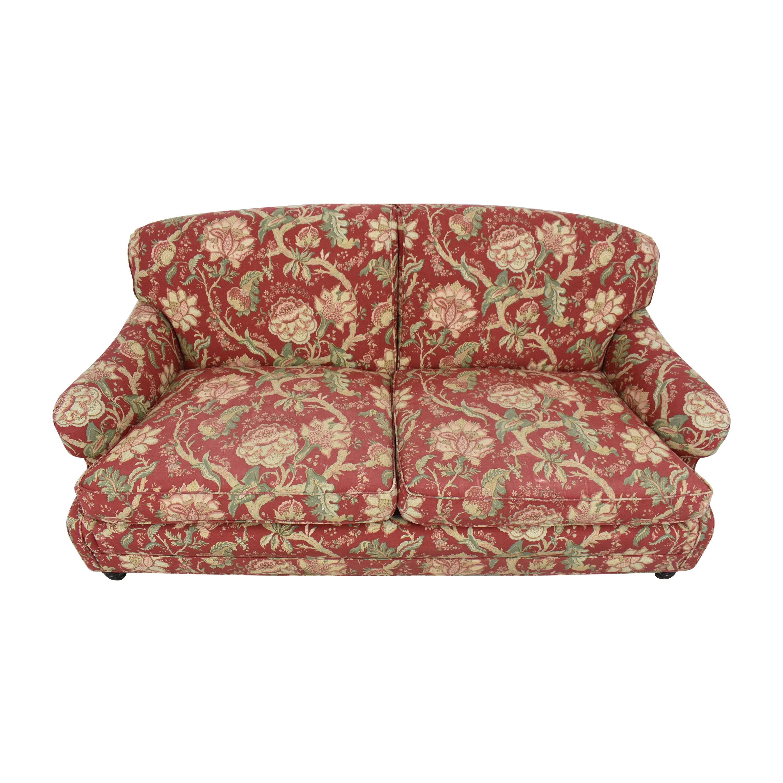 Barclay Butera Home Barclay Butera Home Floral Upholstered Sofa dimensions