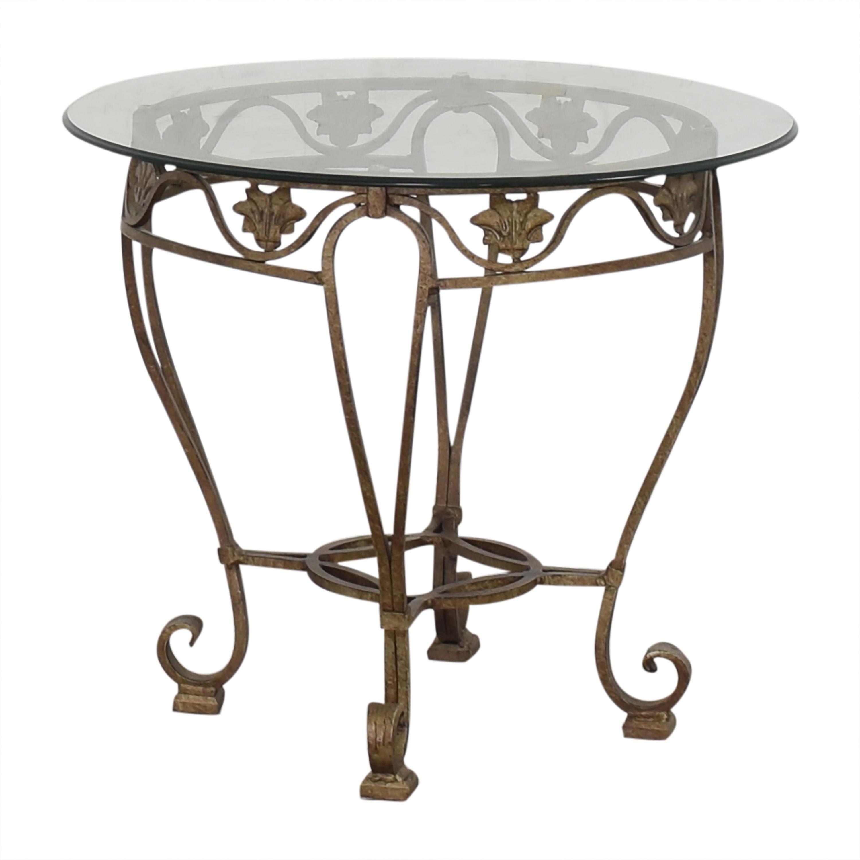 Thomasville Translucent Side Table Thomasville