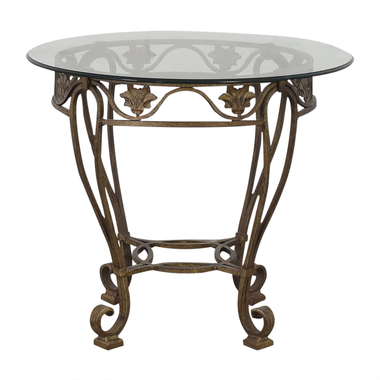Thomasville Thomasville Translucent Side Table gold