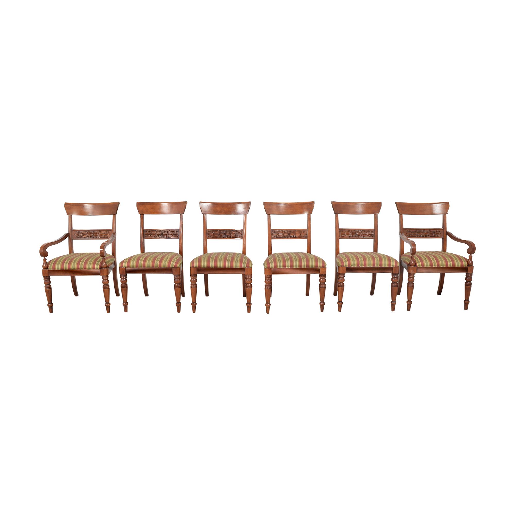 buy Ethan Allen British Classics Dining Chairs Ethan Allen