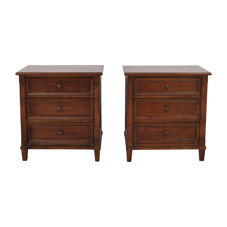 Bassett Furniture Bassett Furniture Three Drawer Nightstands on sale