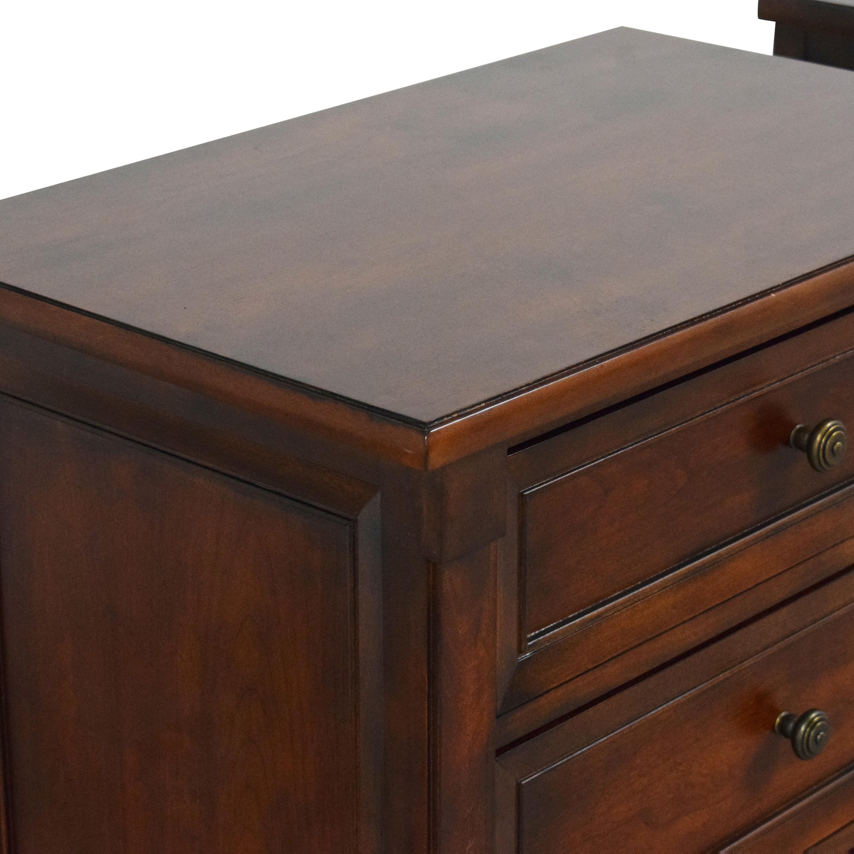 Bassett Furniture Bassett Furniture Three Drawer Nightstands second hand