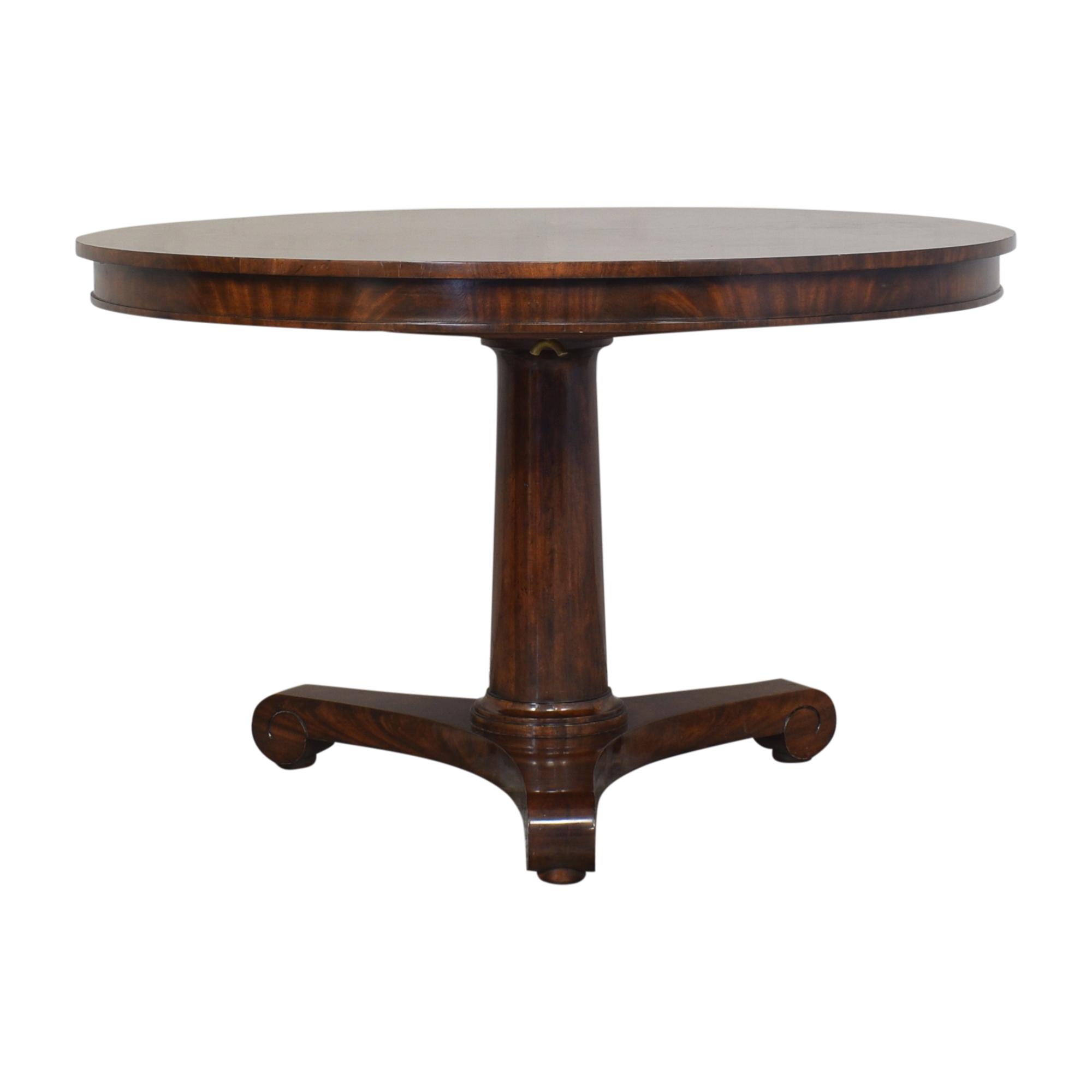 ABC Carpet & Home Pedestal Dining Table / Dinner Tables
