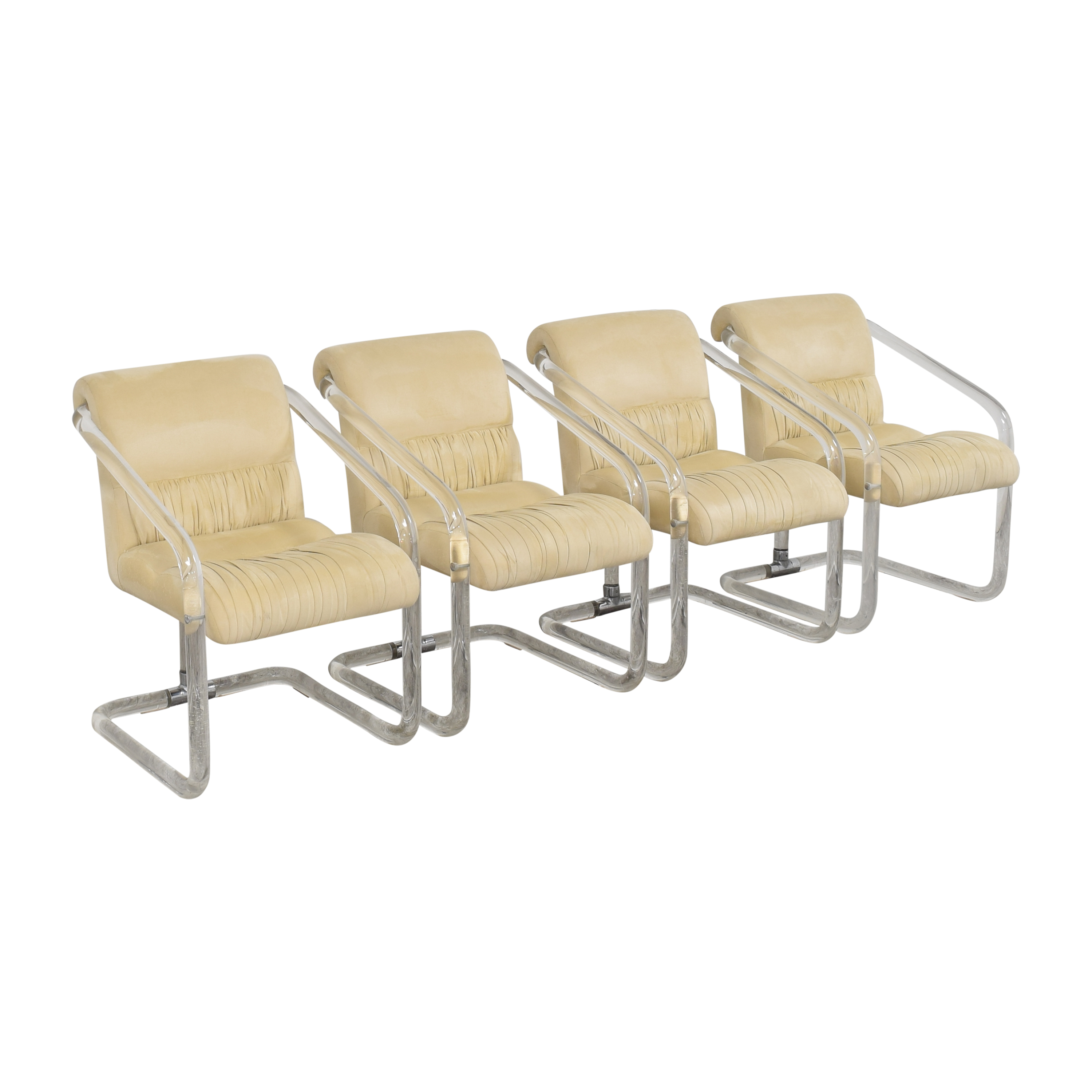 shop Lion in Frost Transparent Frame Chairs Lion in Frost Chairs