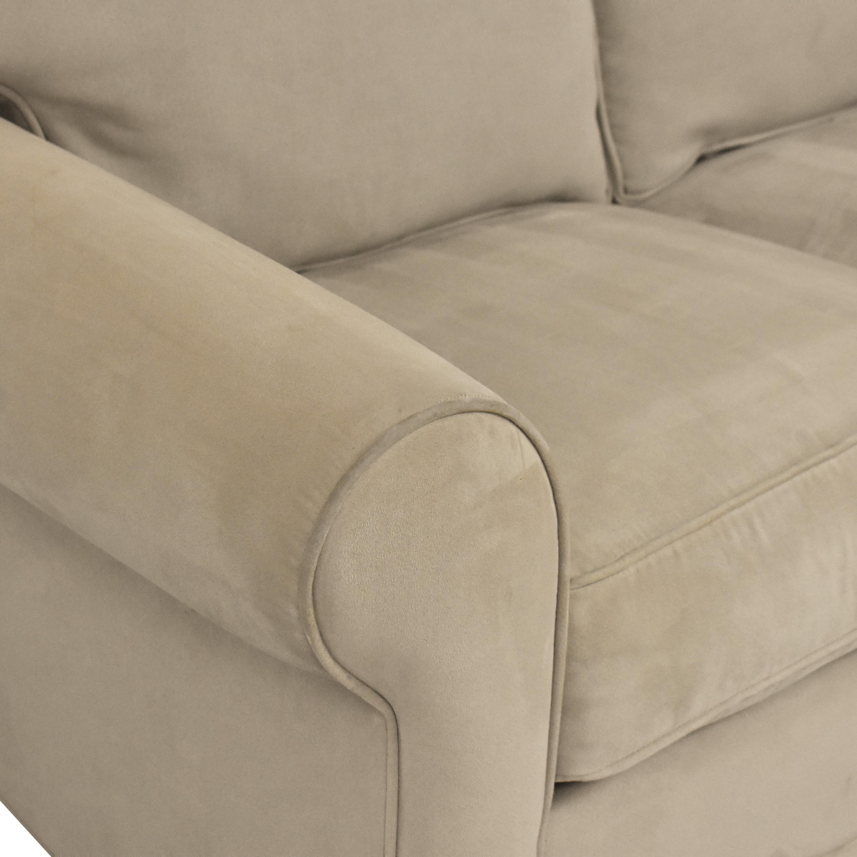 HM Richards Furniture HM Richards Furniture Roll Arm Loveseat Sofas