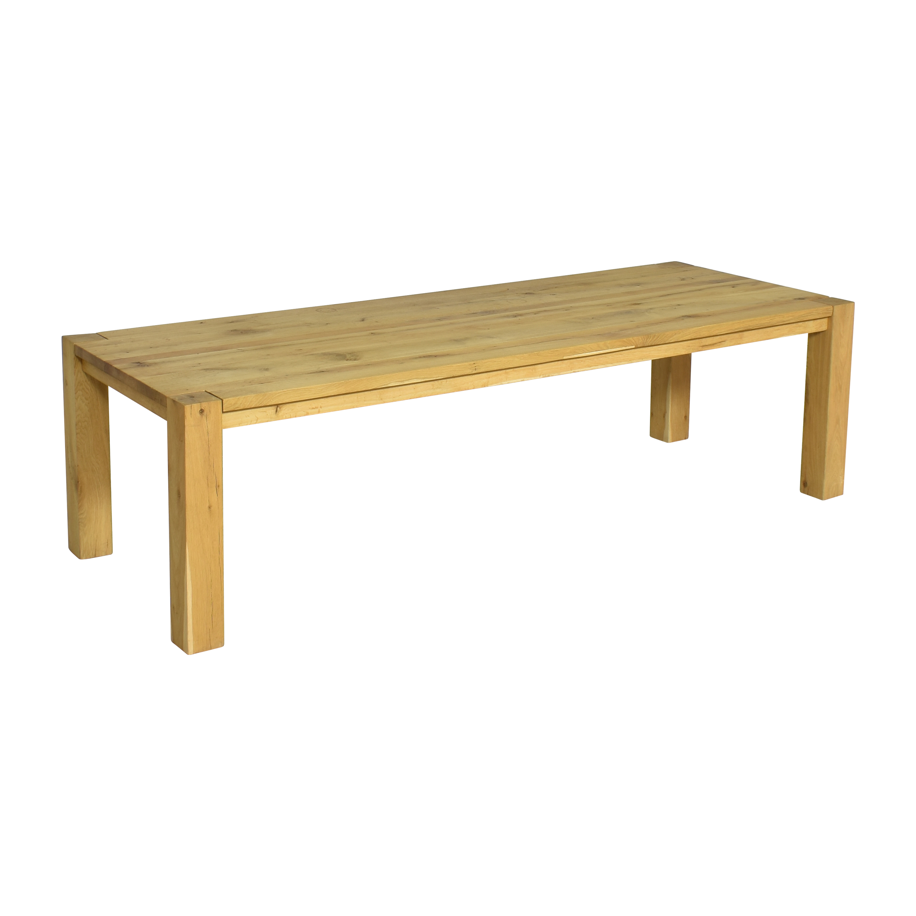Restoration Hardware Restoration Hardware Reclaimed Parsons Rectangular Dining Table second hand