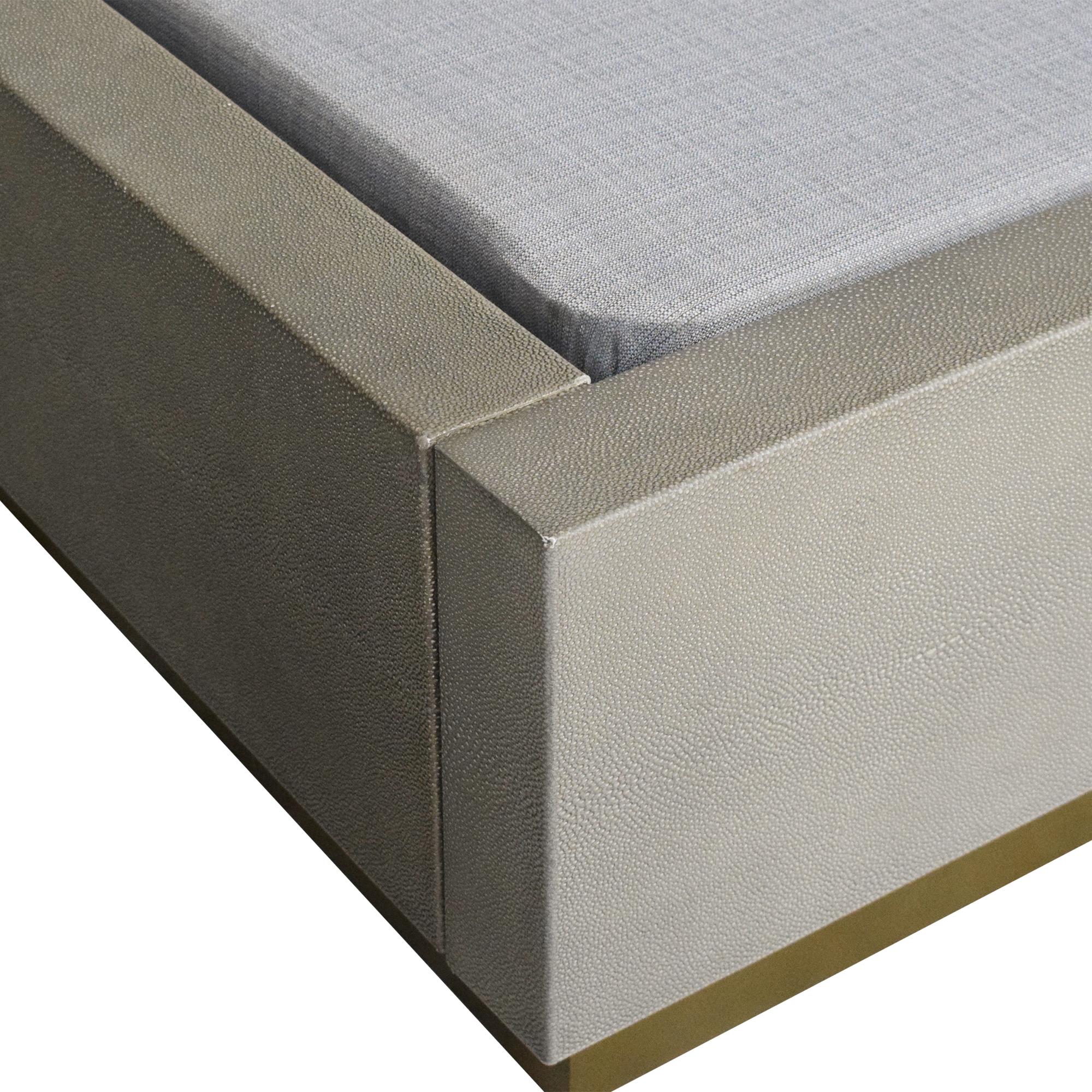 Restoration Hardware Cela Queen Bed / Bed Frames