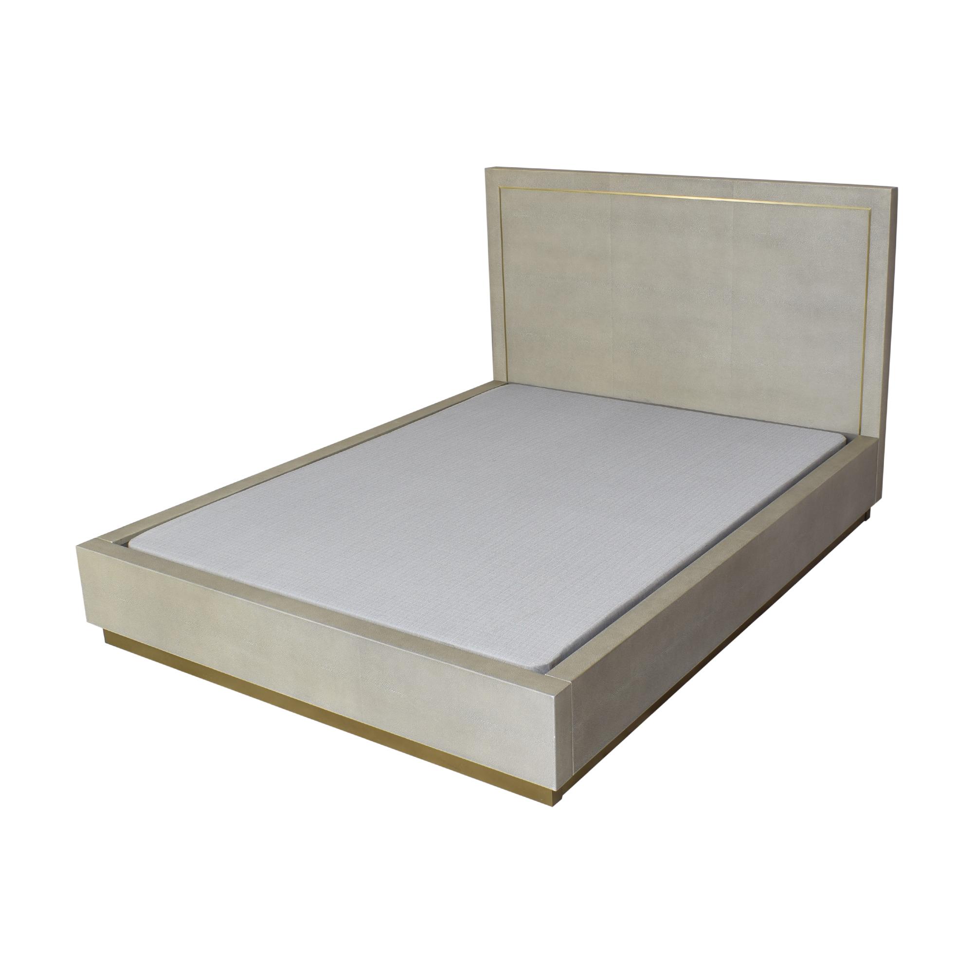 shop Restoration Hardware Cela Queen Bed Restoration Hardware Bed Frames