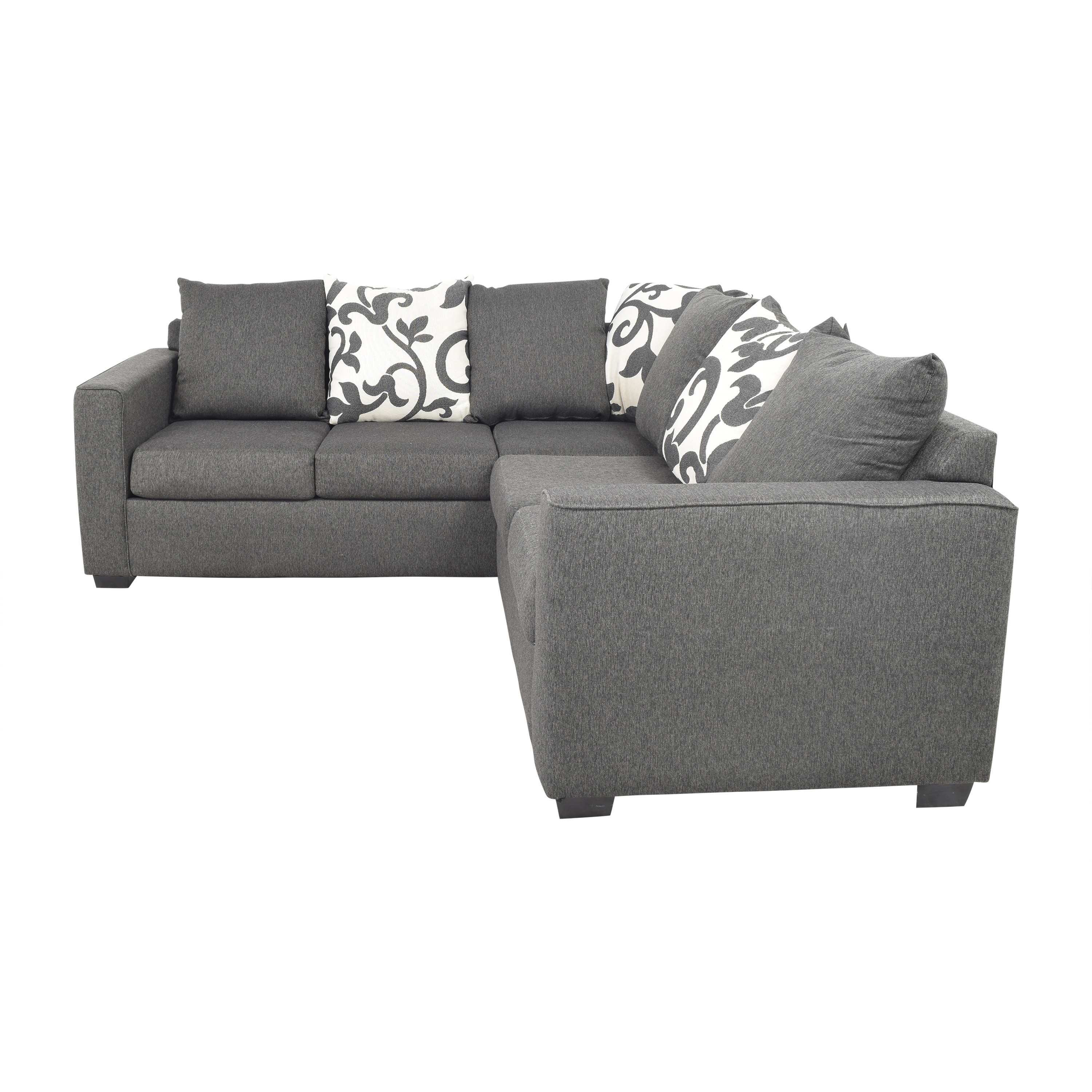 Furniture of America Furniture of America Lleida Two Piece Sectional Sofa on sale