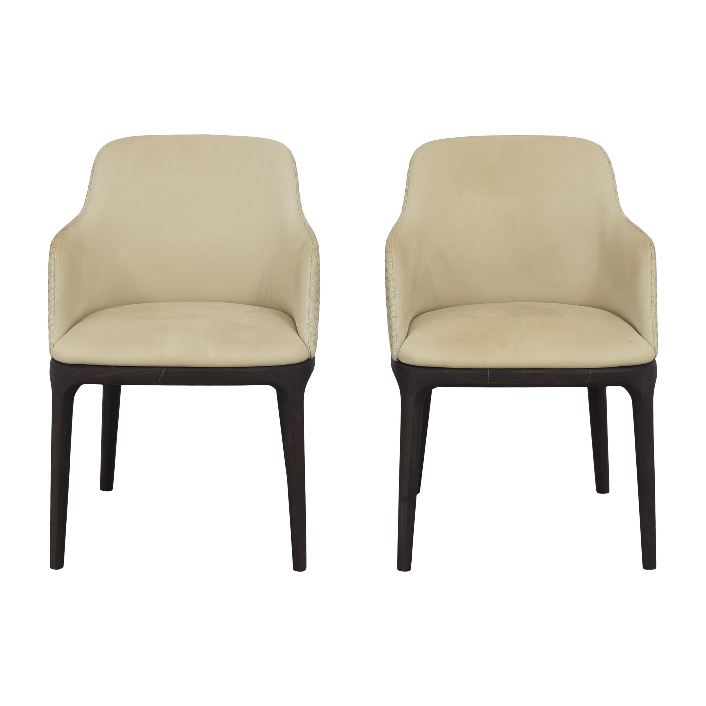 buy Poliform Grace Arm Chairs Poliform Accent Chairs