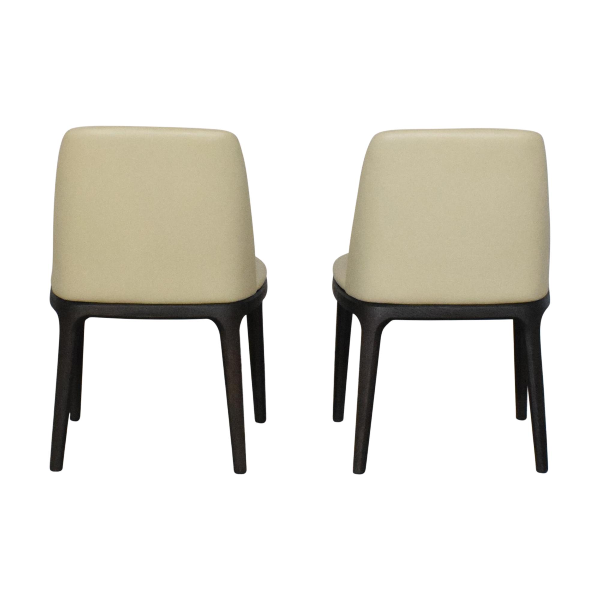 shop Poliform Grace Chairs Poliform Dining Chairs