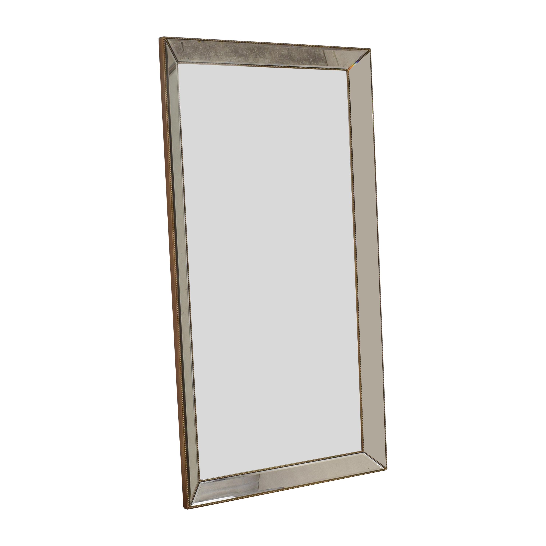 Horchow Horchow Aldina Beaded Floor Mirror dimensions