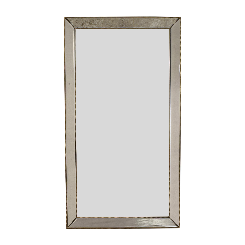 Horchow Horchow Aldina Beaded Floor Mirror discount