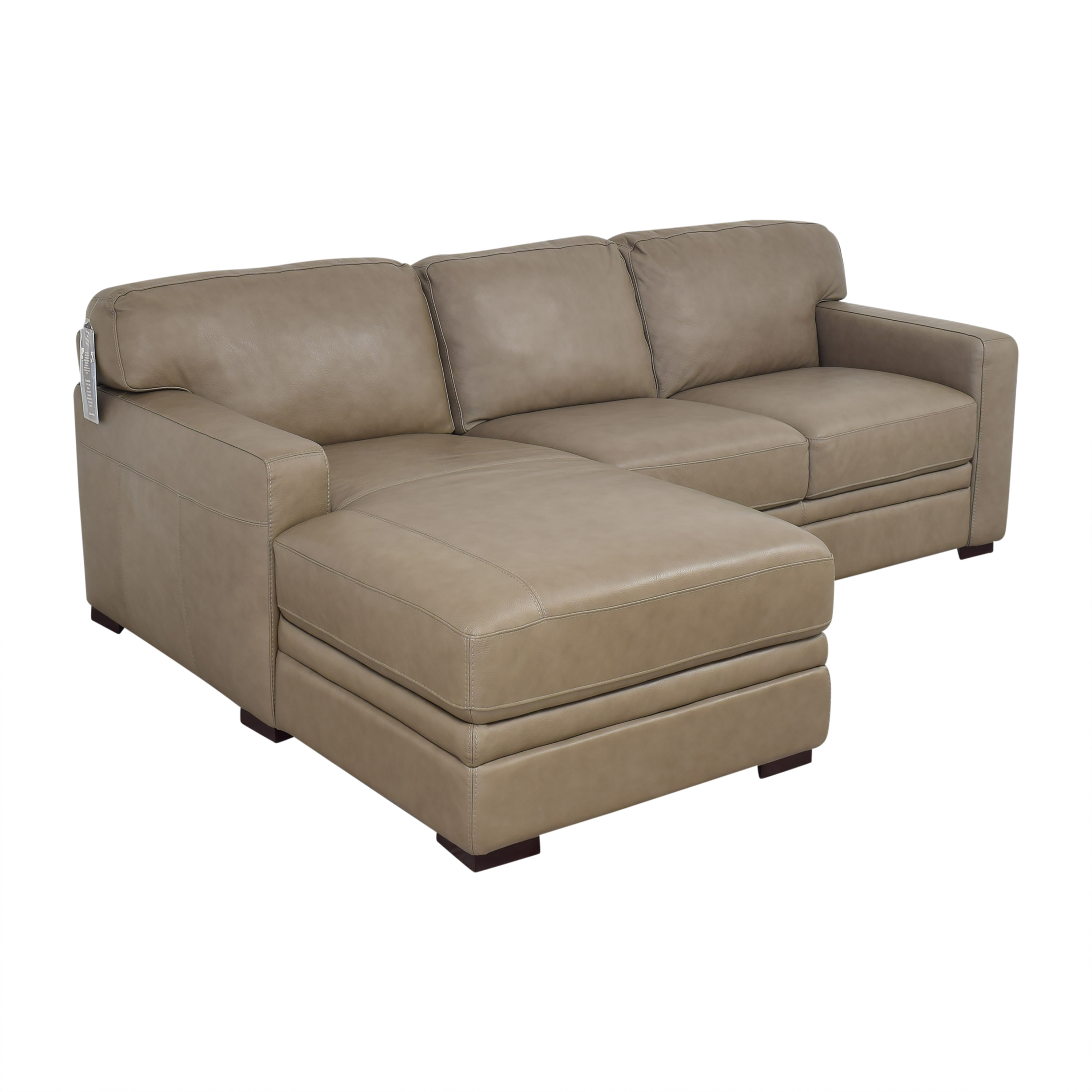 buy Macy's Avenell Two Piece Chaise Sectional Sofa Macy's Sectionals