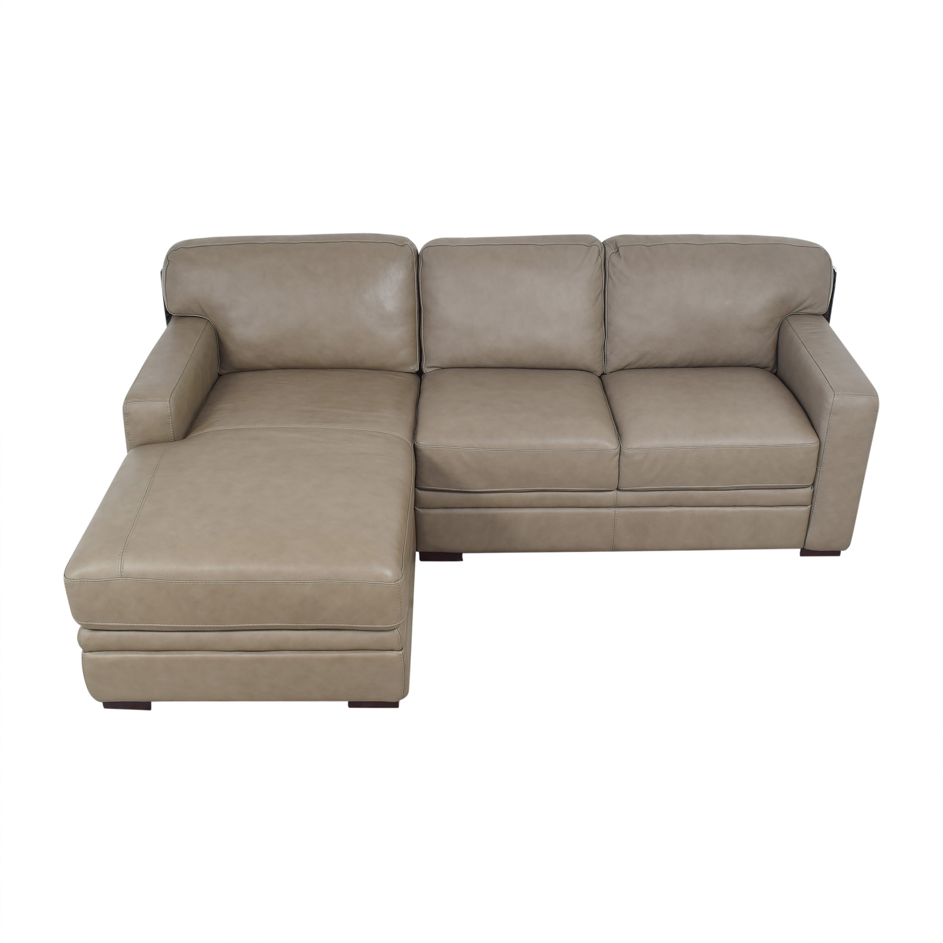 Macy's Avenell Two Piece Chaise Sectional Sofa / Sectionals