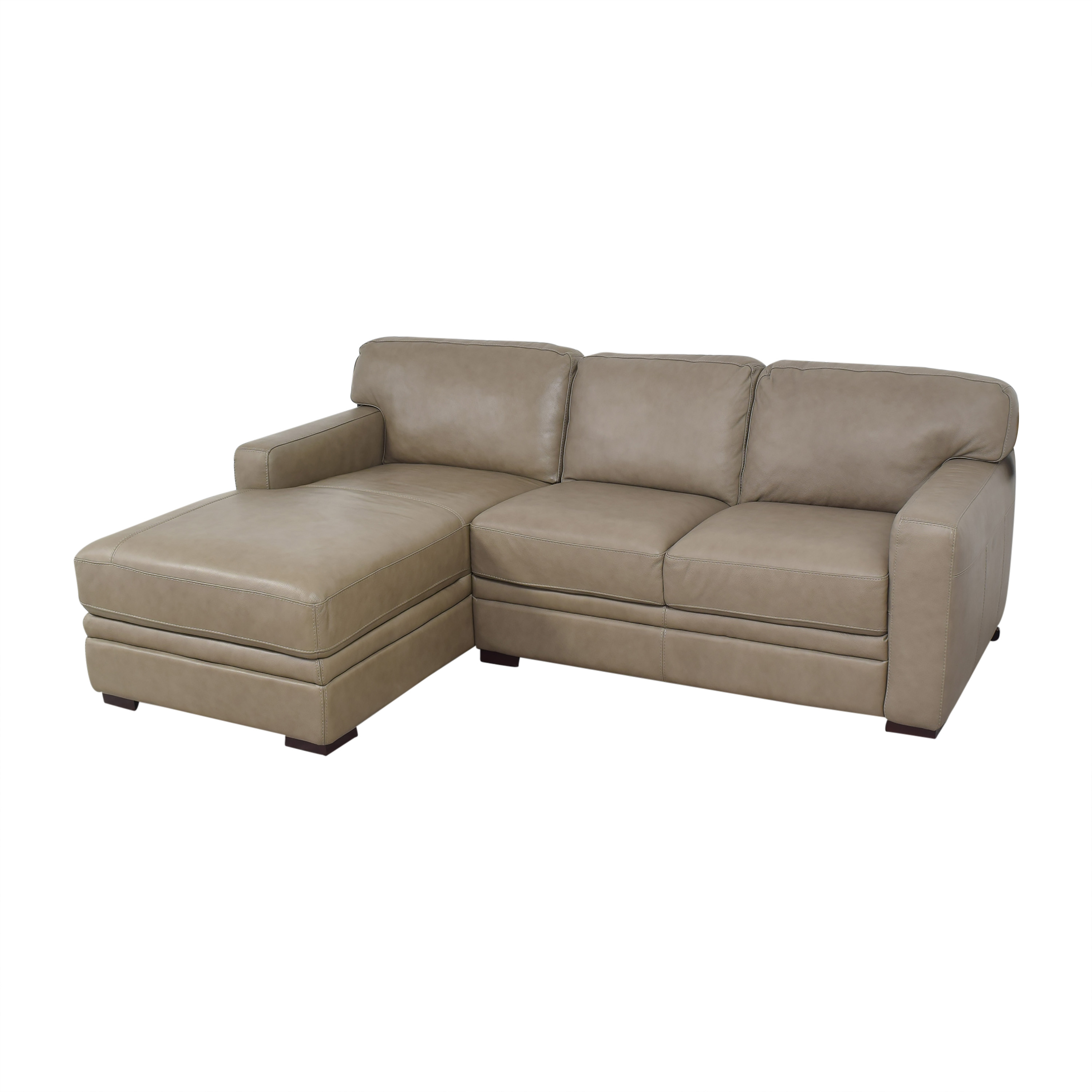 Macy's Macy's Avenell Two Piece Chaise Sectional Sofa Sectionals