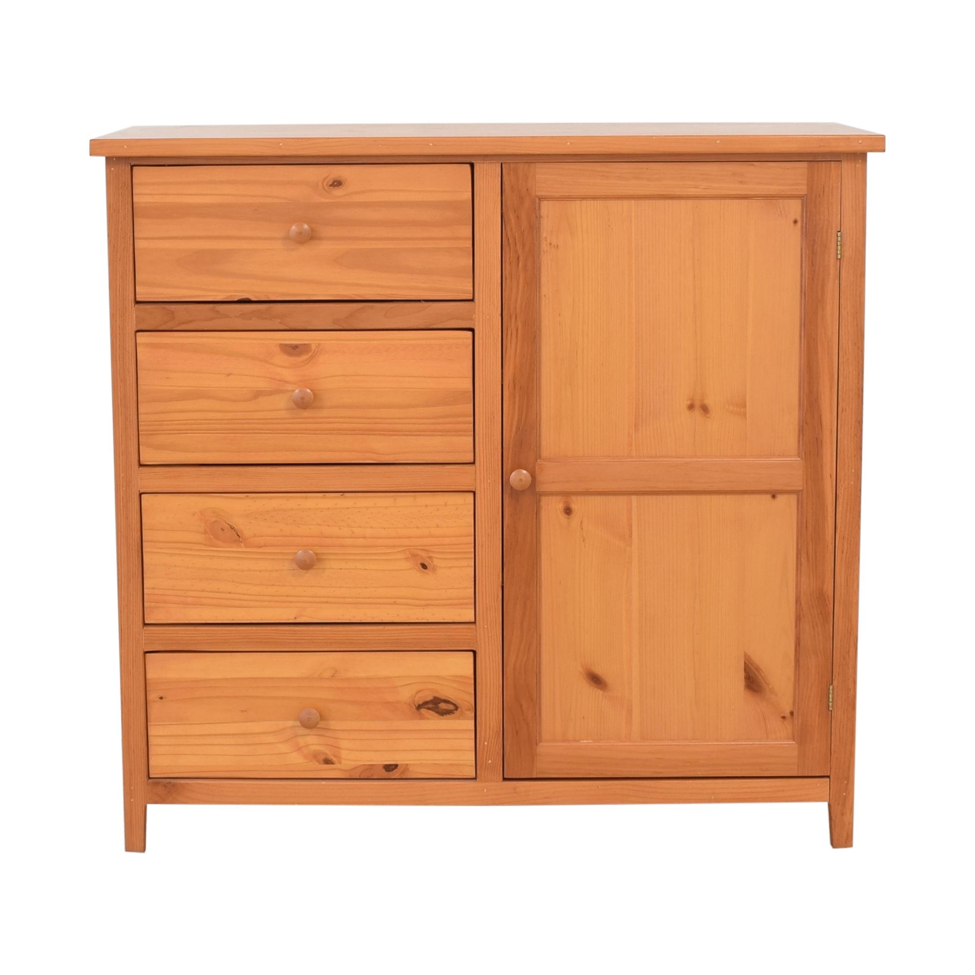 Gothic Cabinet Craft Gothic Cabinet Craft Four Drawer One Door Dresser for sale