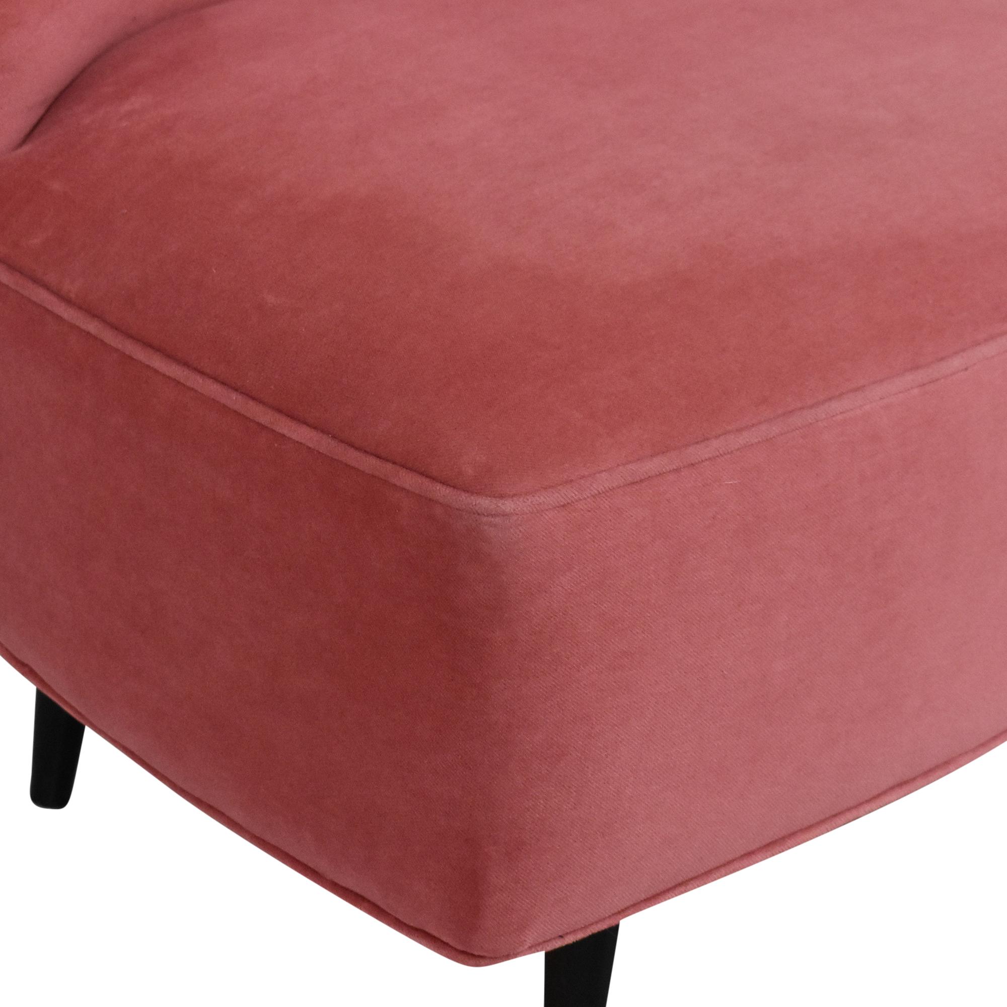 Room & Board Room & Board Swivel Chair pink