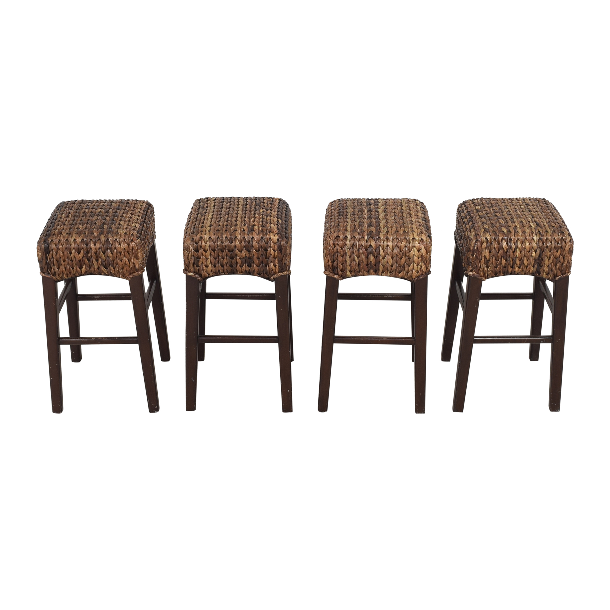 Pottery Barn Pottery Barn Seagrass Counter Stools second hand