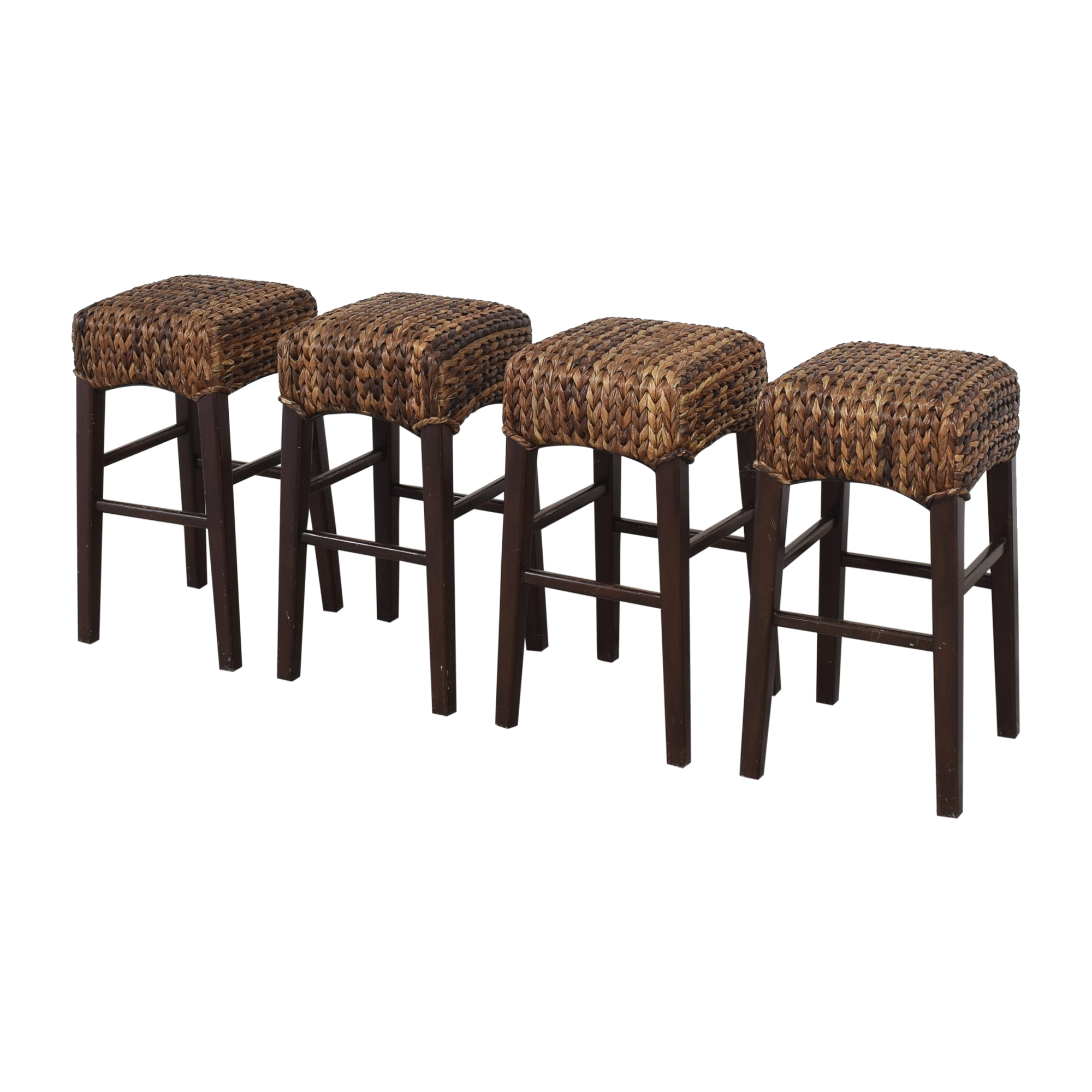 Pottery Barn Pottery Barn Seagrass Counter Stools for sale