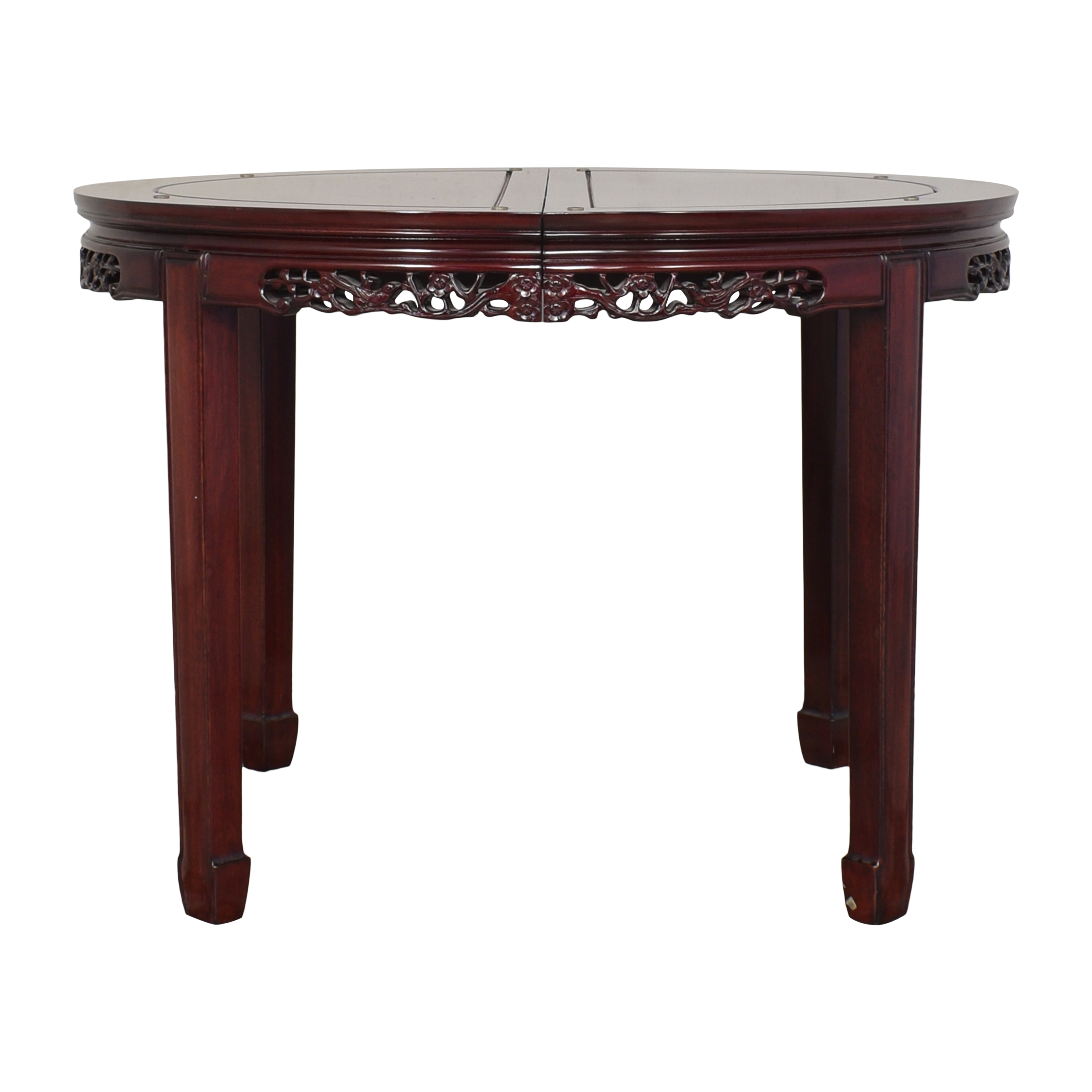 Carved Extendable Dining Table / Dinner Tables