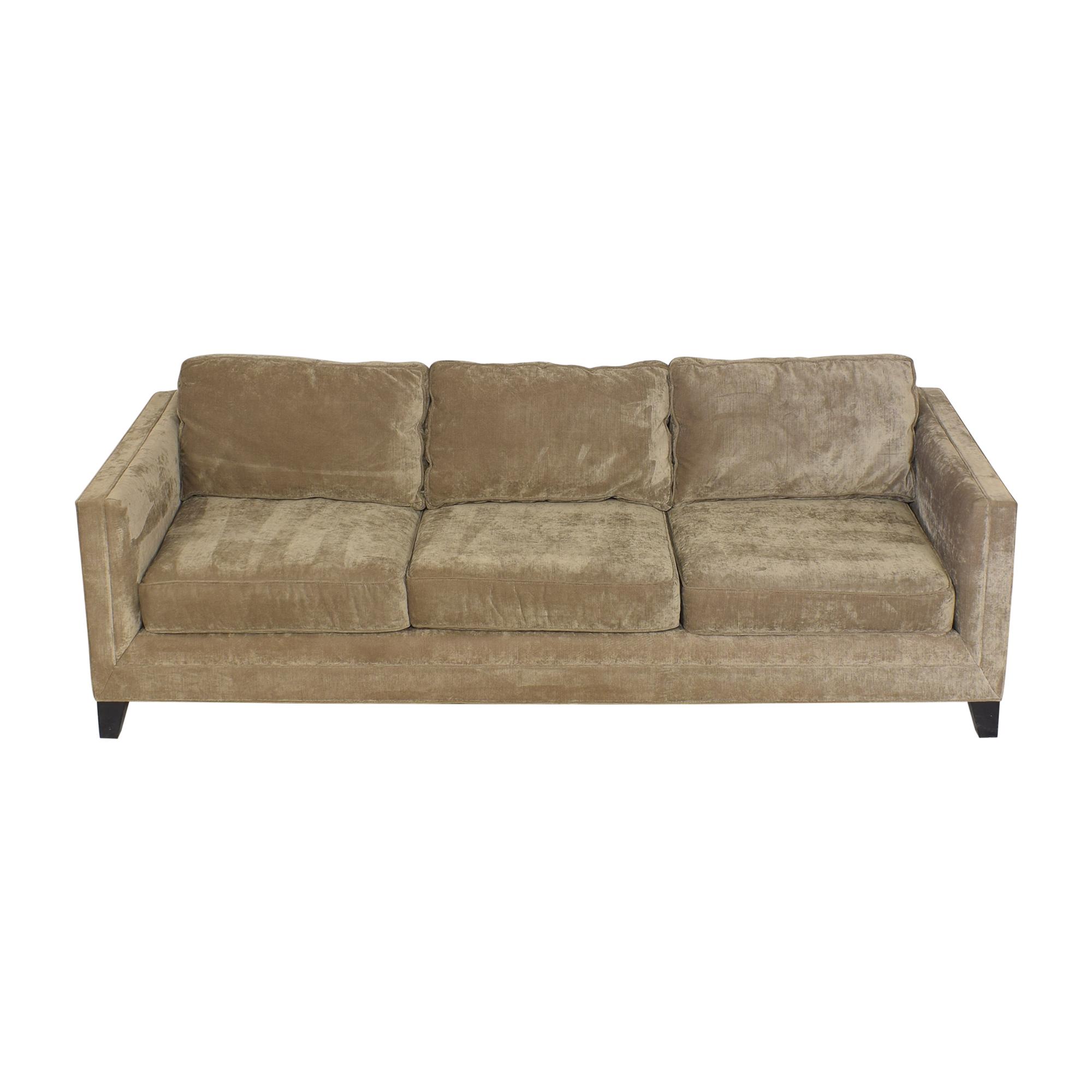 shop Mitchell Gold + Bob Williams Reese Three Cushion Sofa Mitchell Gold + Bob Williams Classic Sofas