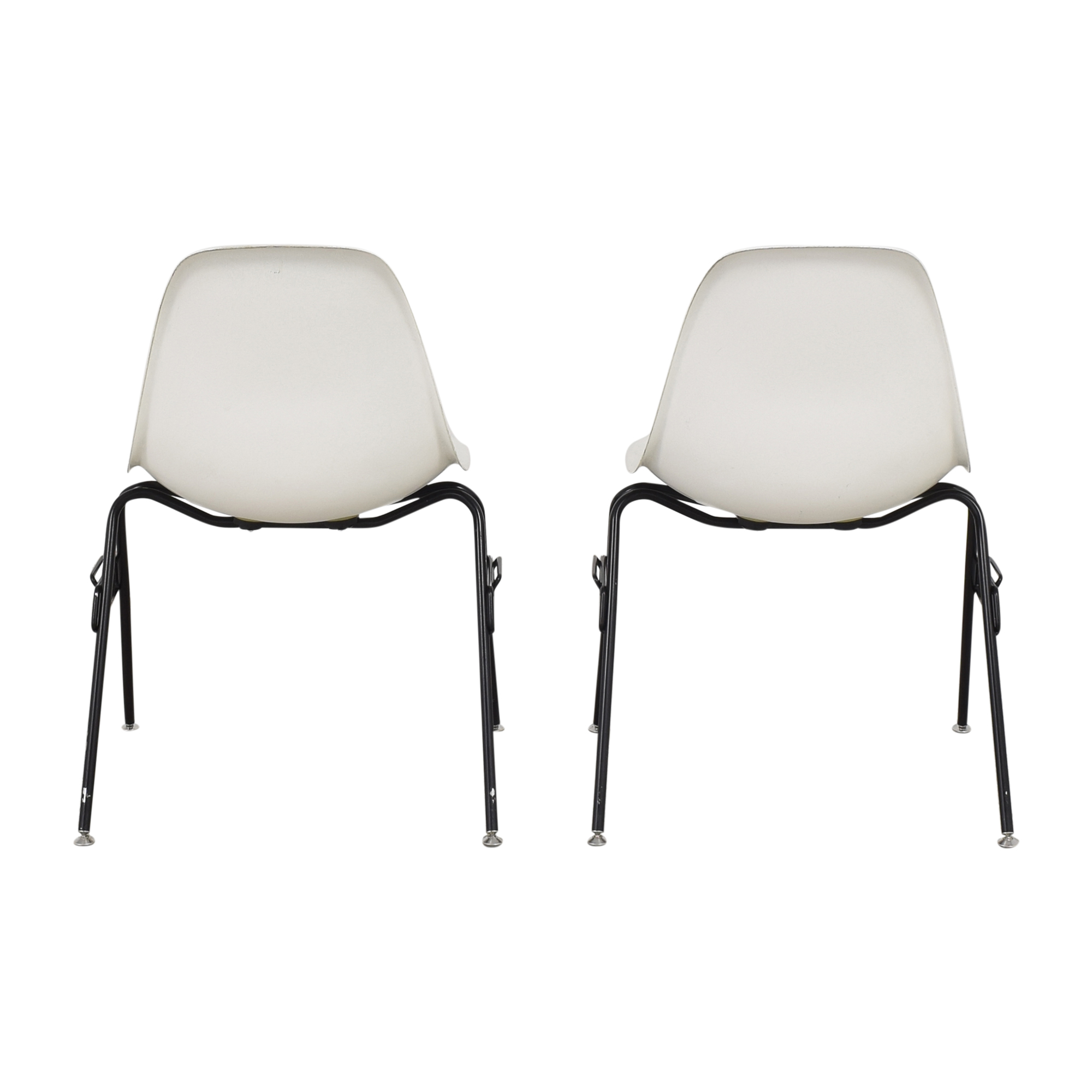 Modernica Modernica Case Study Furniture Side Shell Stacking Chairs nyc