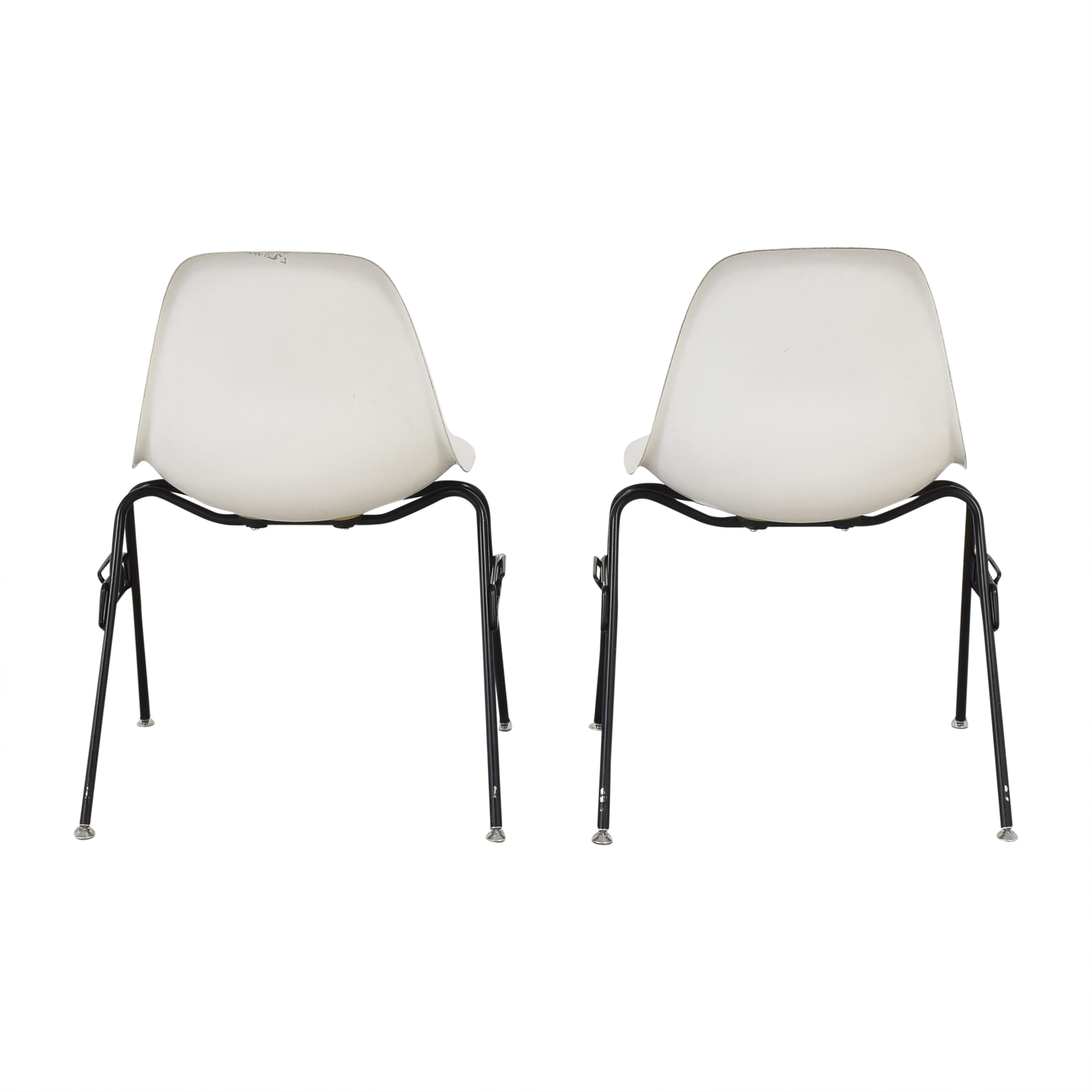 Modernica Modernica Case Study Furniture Side Shell Stacking Chairs used