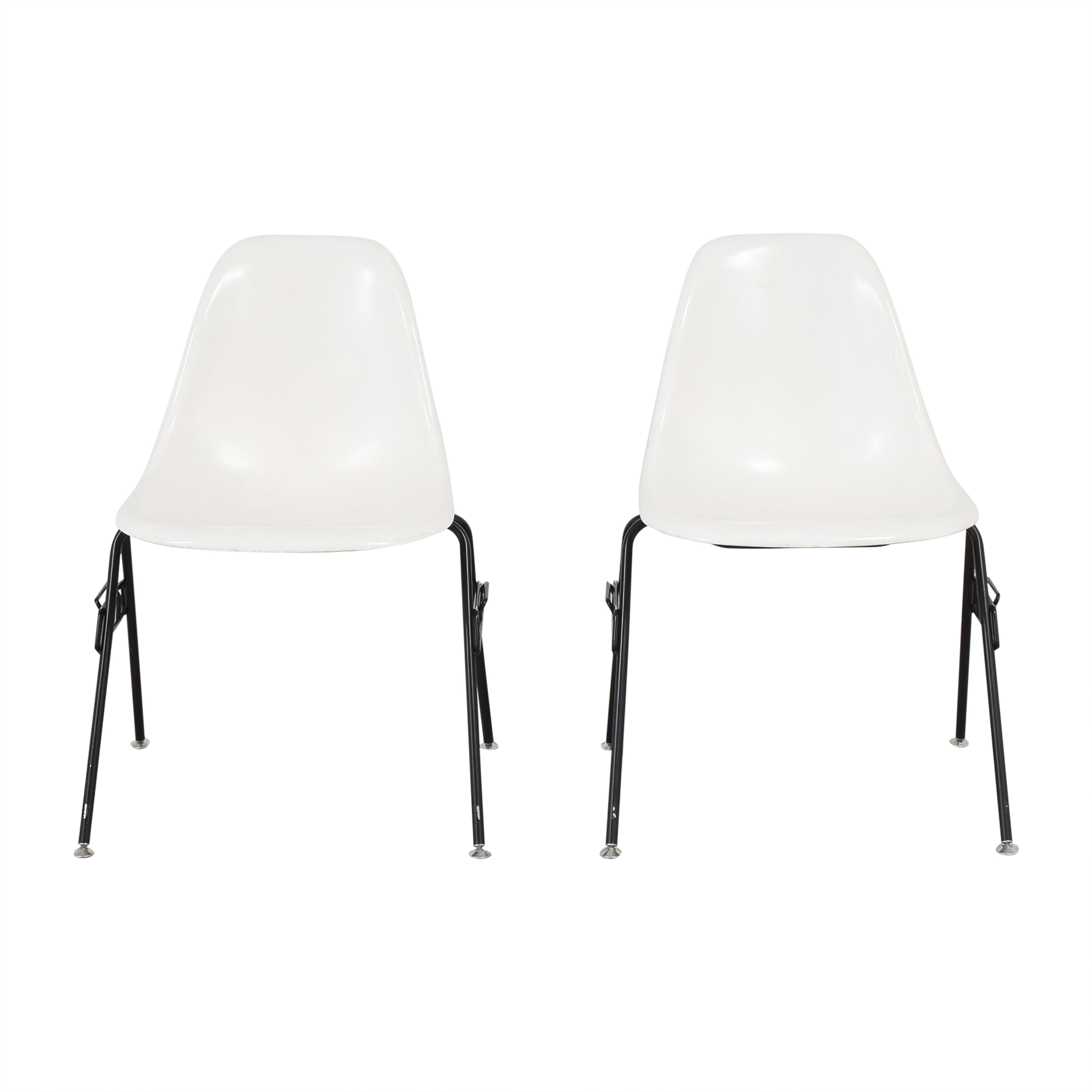 Modernica Modernica Case Study Furniture Side Shell Stacking Chairs Dining Chairs