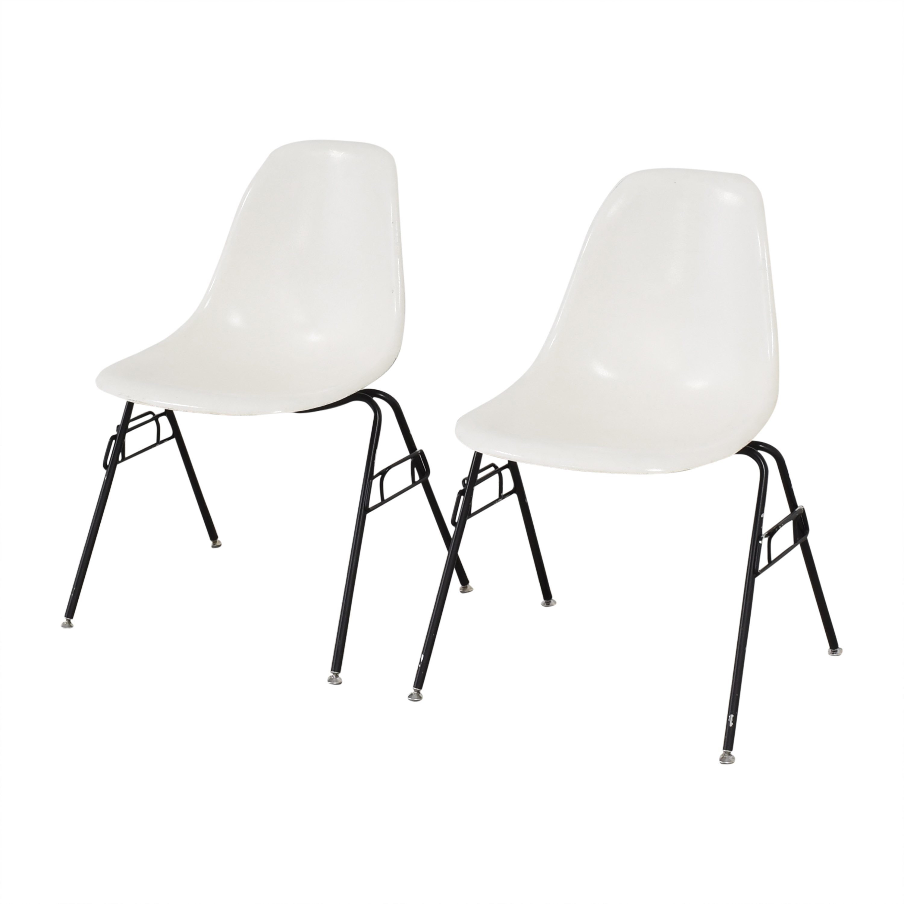 Modernica Modernica Case Study Furniture Side Shell Stacking Chairs discount