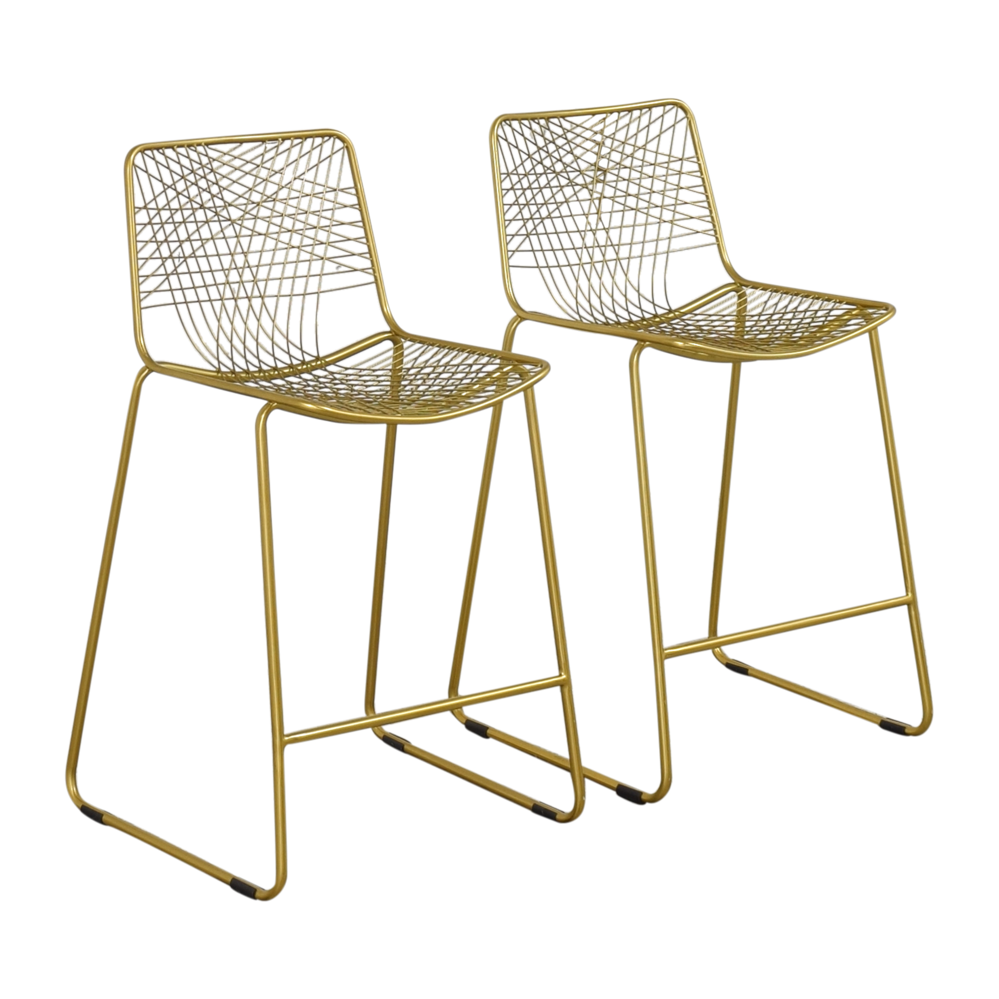 buy CB2 Alpha Counter Stools CB2 Chairs