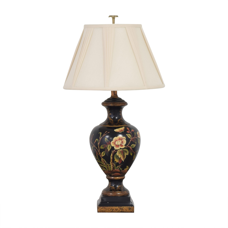 Floral Urn Table Lamp sale