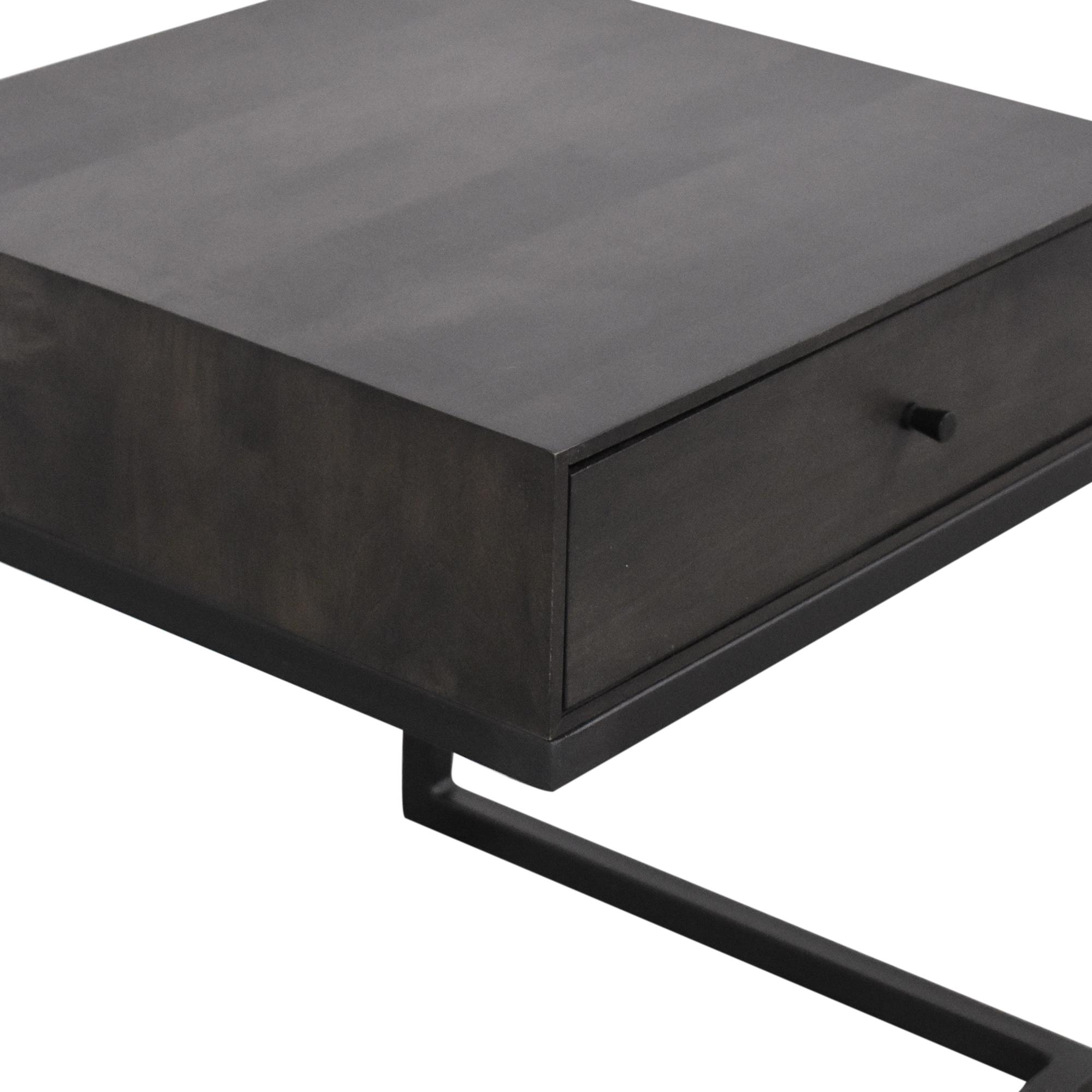 Room & Board Room & Board Hudson One Drawer C-Table Nightstand