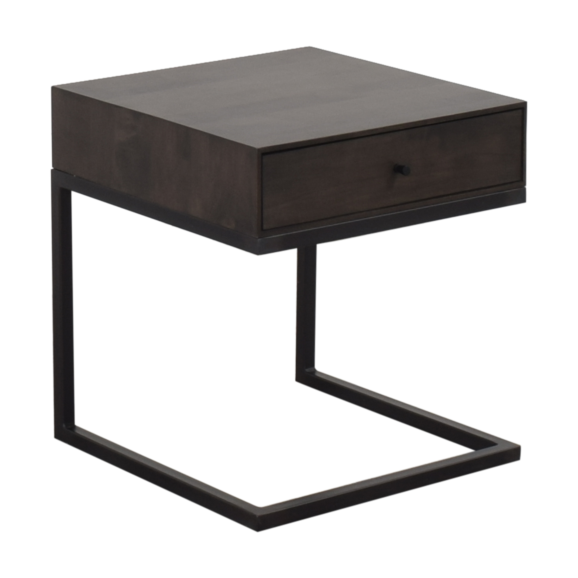 shop Room & Board Hudson One Drawer C-Table Nightstand Room & Board Tables