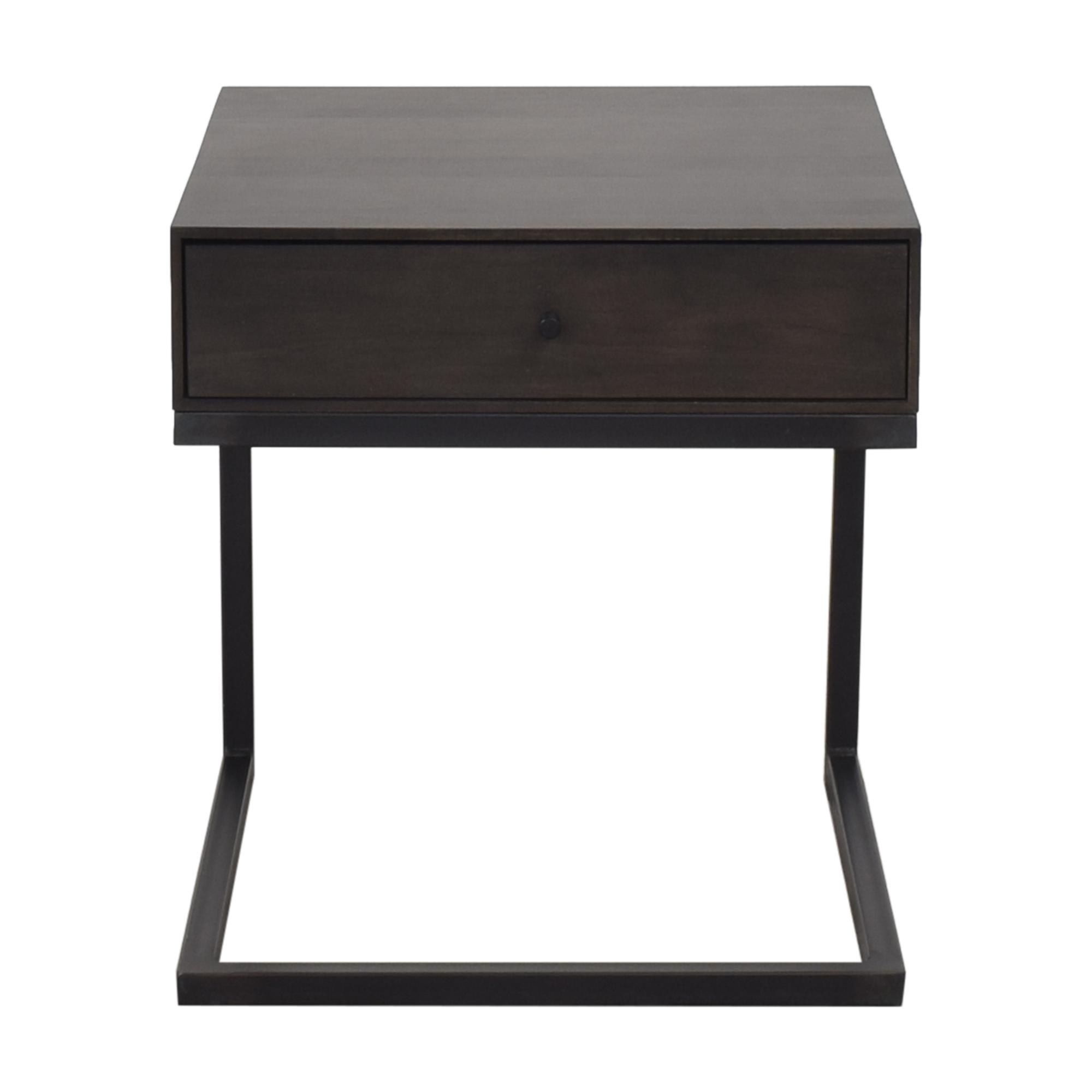 buy Room & Board Hudson One Drawer C-Table Nightstand Room & Board