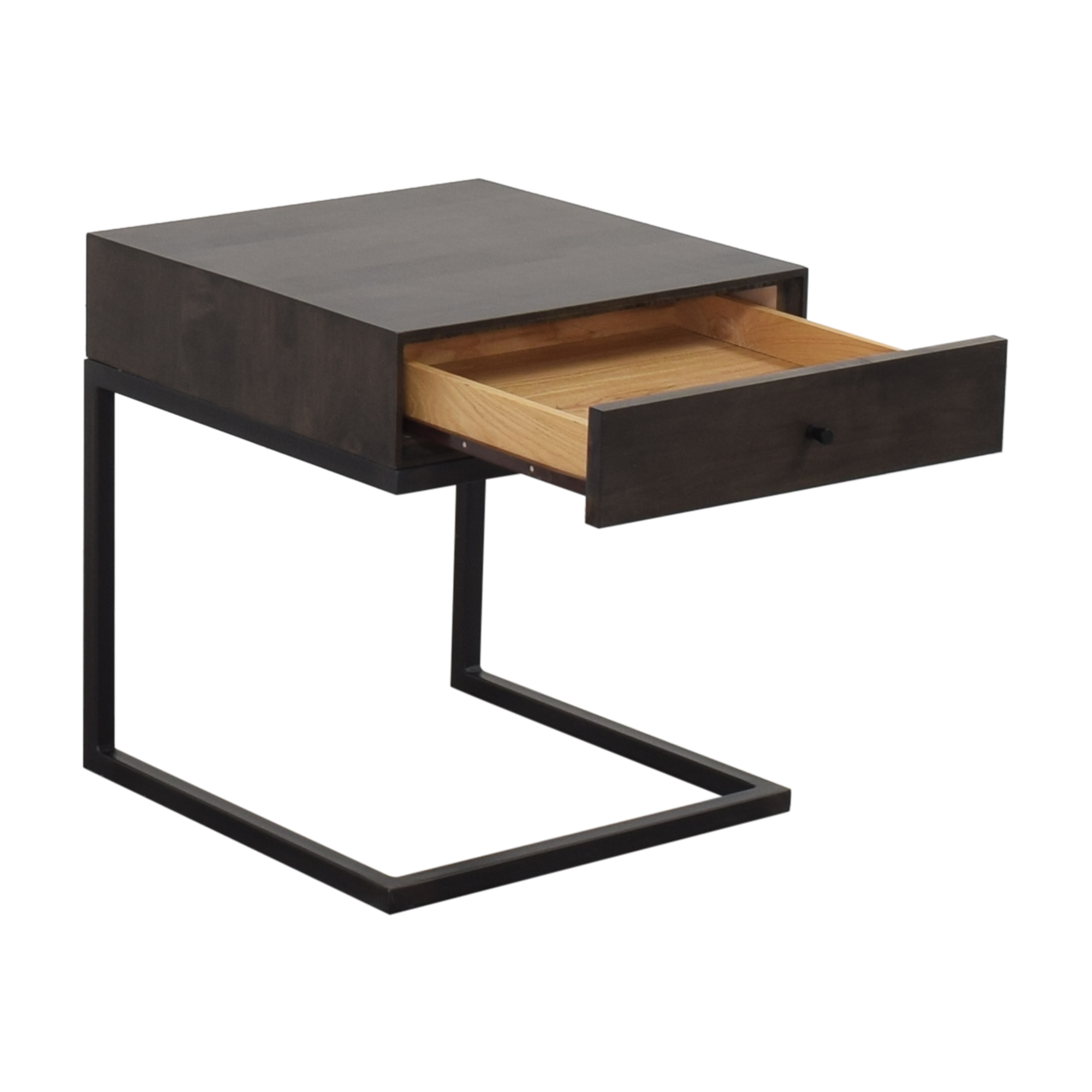Room & Board Hudson One Drawer C-Table Nightstand sale