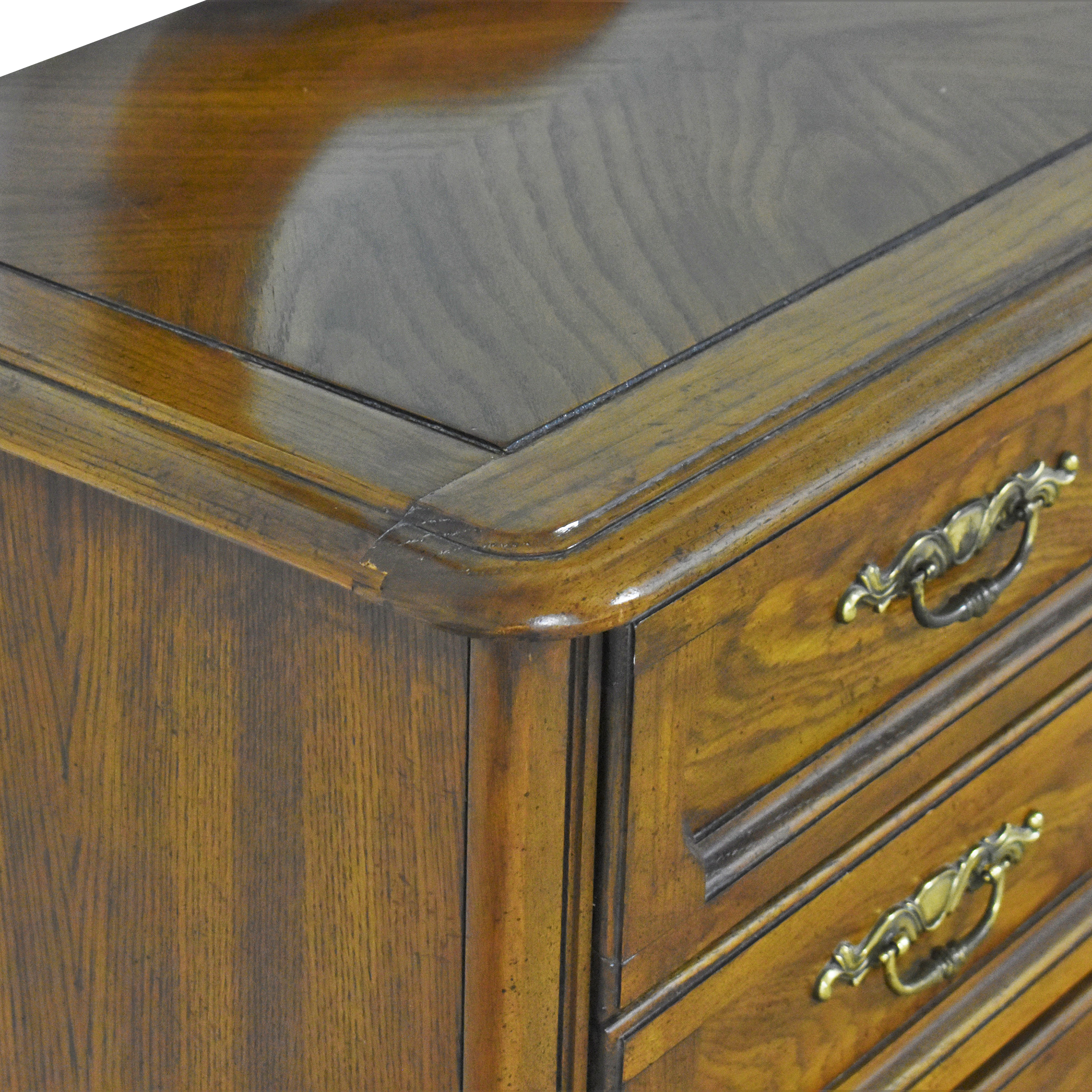 Huffman Koos Huffman Koos French Provincial Wide Dresser with Mirror coupon