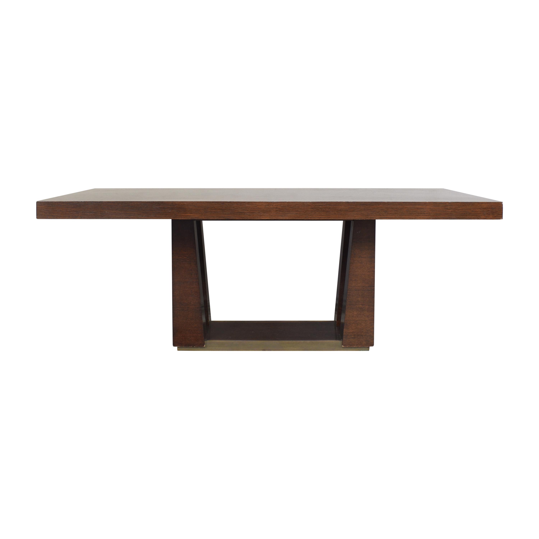 Lee Weitzman Lee Weitzman Lotus Extendable Dining Table used