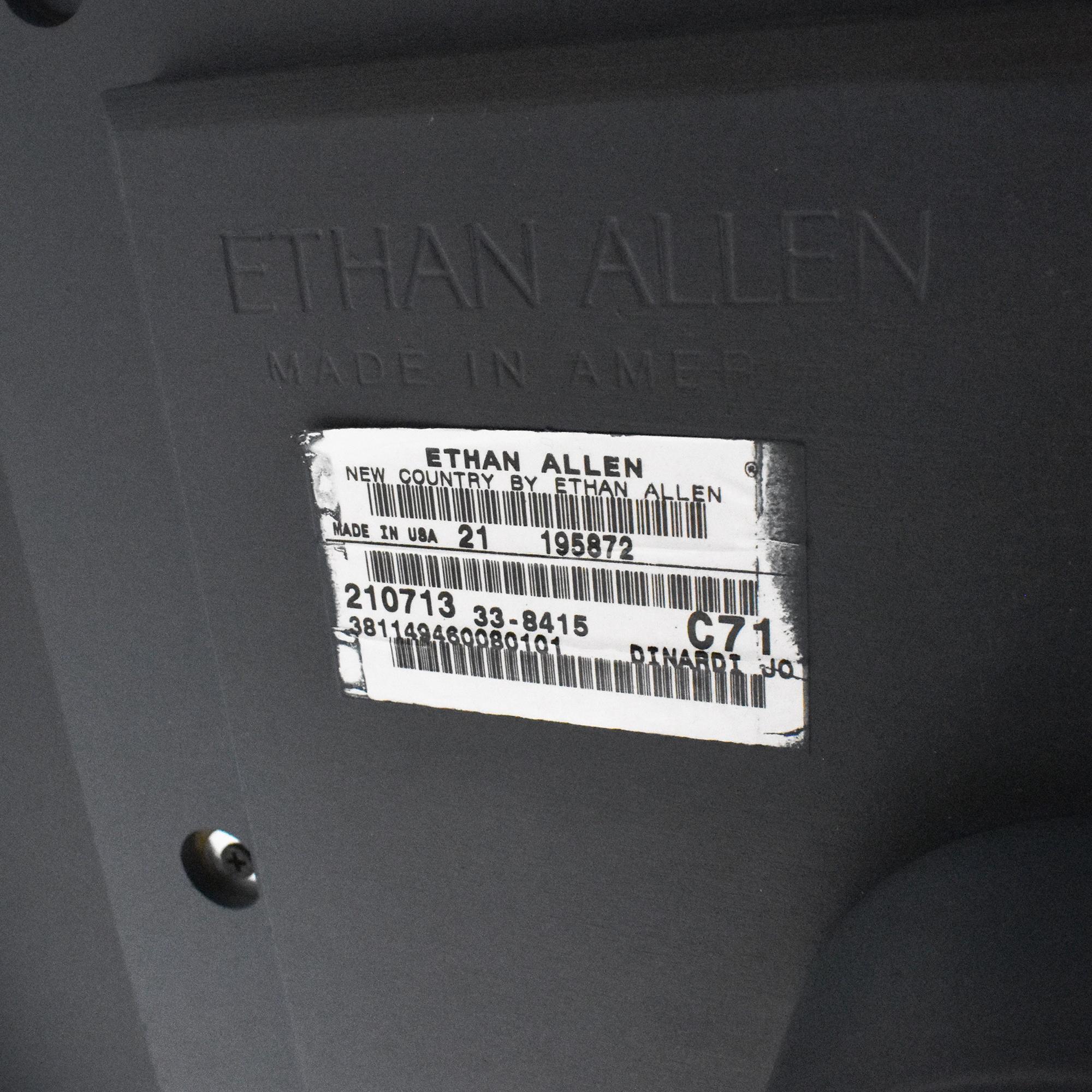 buy Ethan Allen Ethan Allen Tanner Pedestal Table online