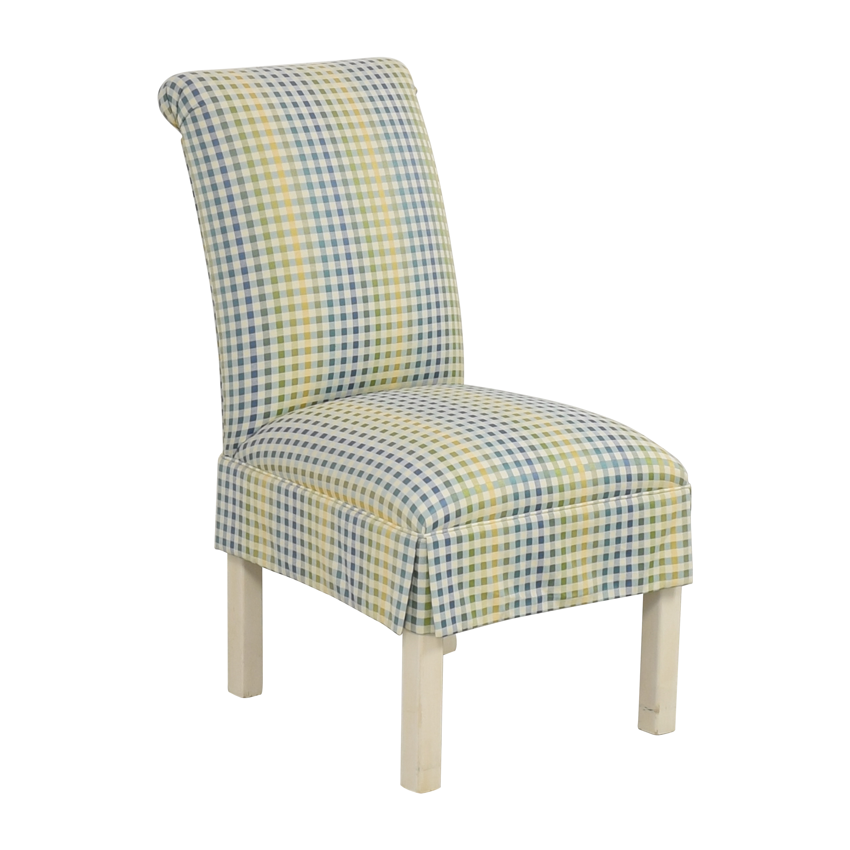 Ethan Allen Ethan Allen Scroll Back Chair on sale