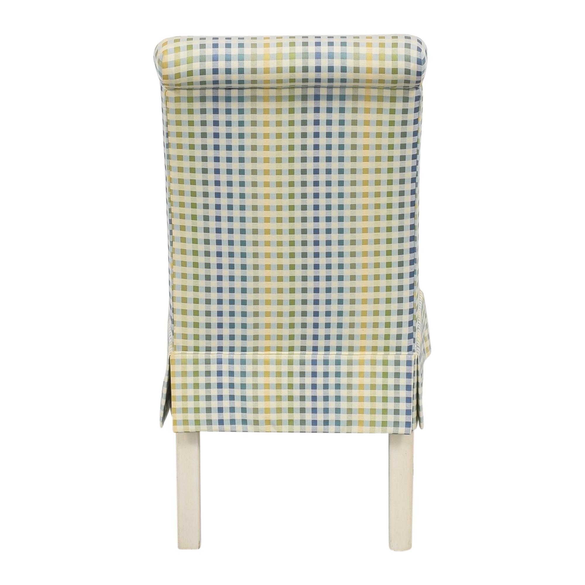 Ethan Allen Ethan Allen Scroll Back Accent Chair ct