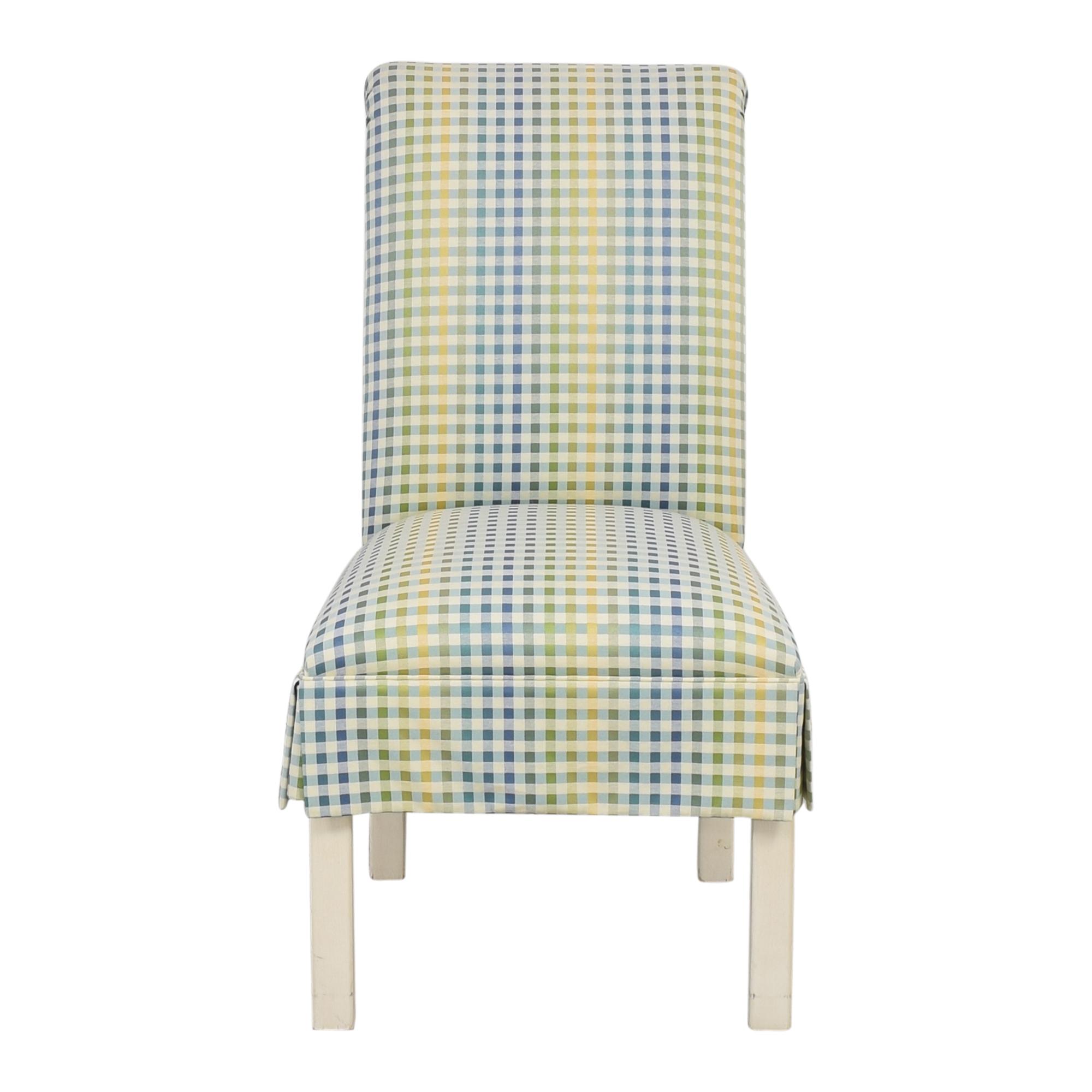 shop Ethan Allen Scroll Back Accent Chair Ethan Allen