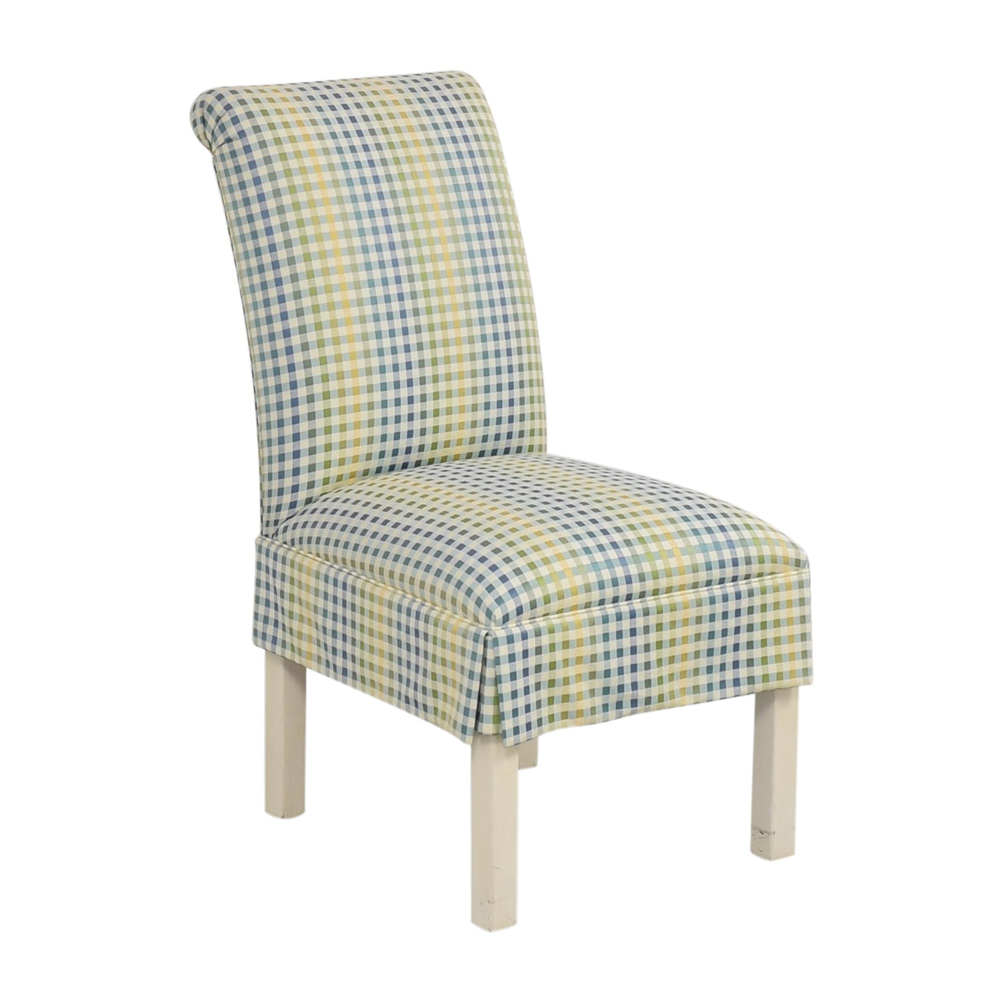 shop Ethan Allen Ethan Allen Scroll Back Accent Chair online