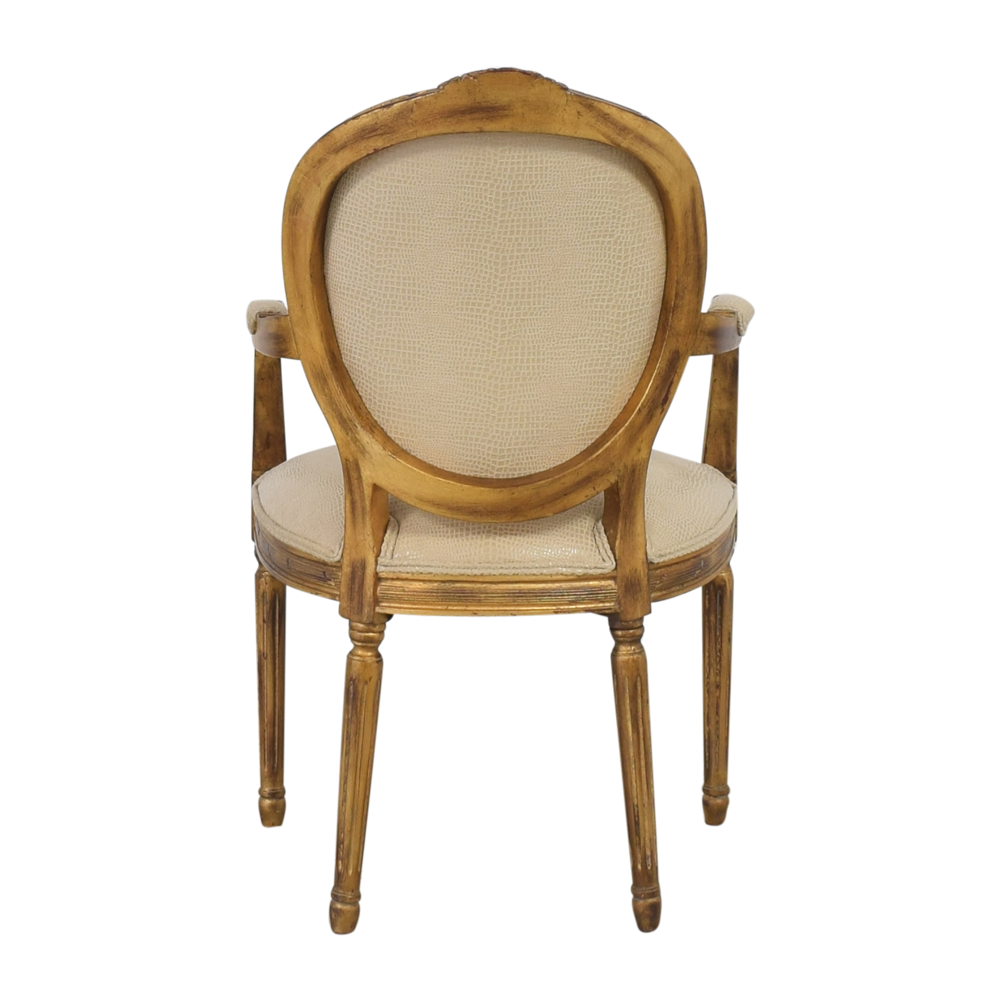Carved French-Style Arm Chair price